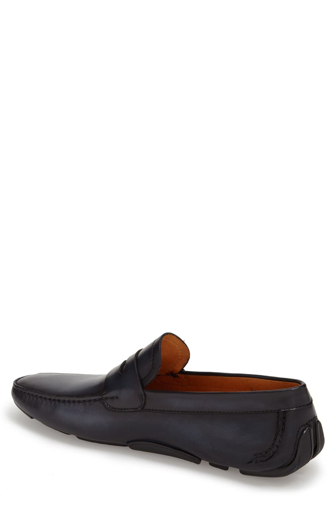 'Dylan' Leather Driving Shoe,                             Alternate thumbnail 8, color,
