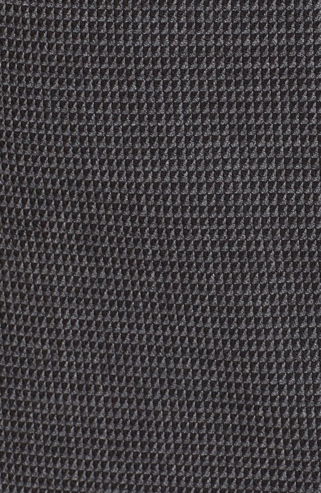 Vorita Geometric Wool Blend Suit Skirt,                             Alternate thumbnail 5, color,                             GREY FANTASY