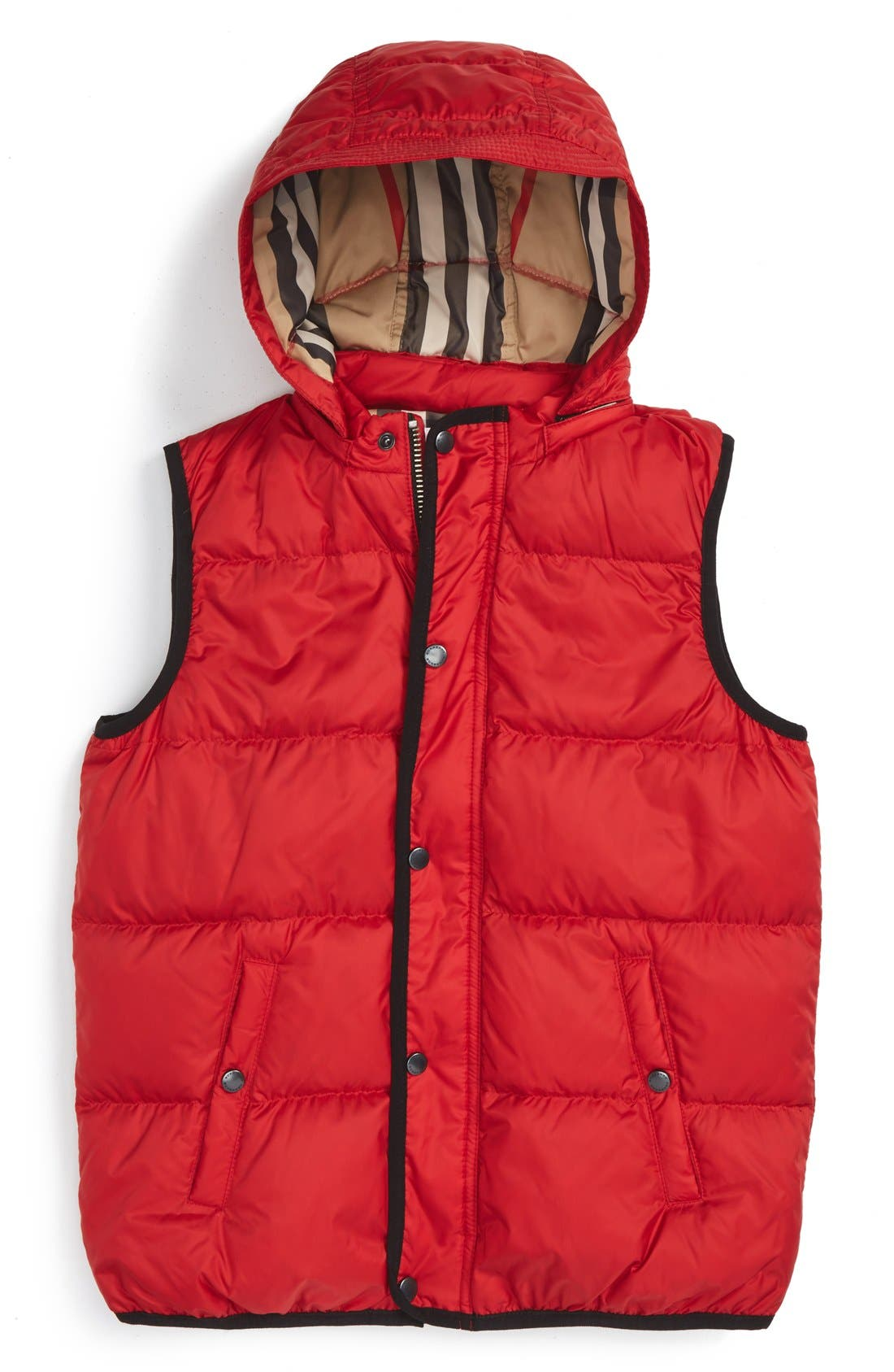 'Carlton' Quilted Down Vest,                             Main thumbnail 3, color,