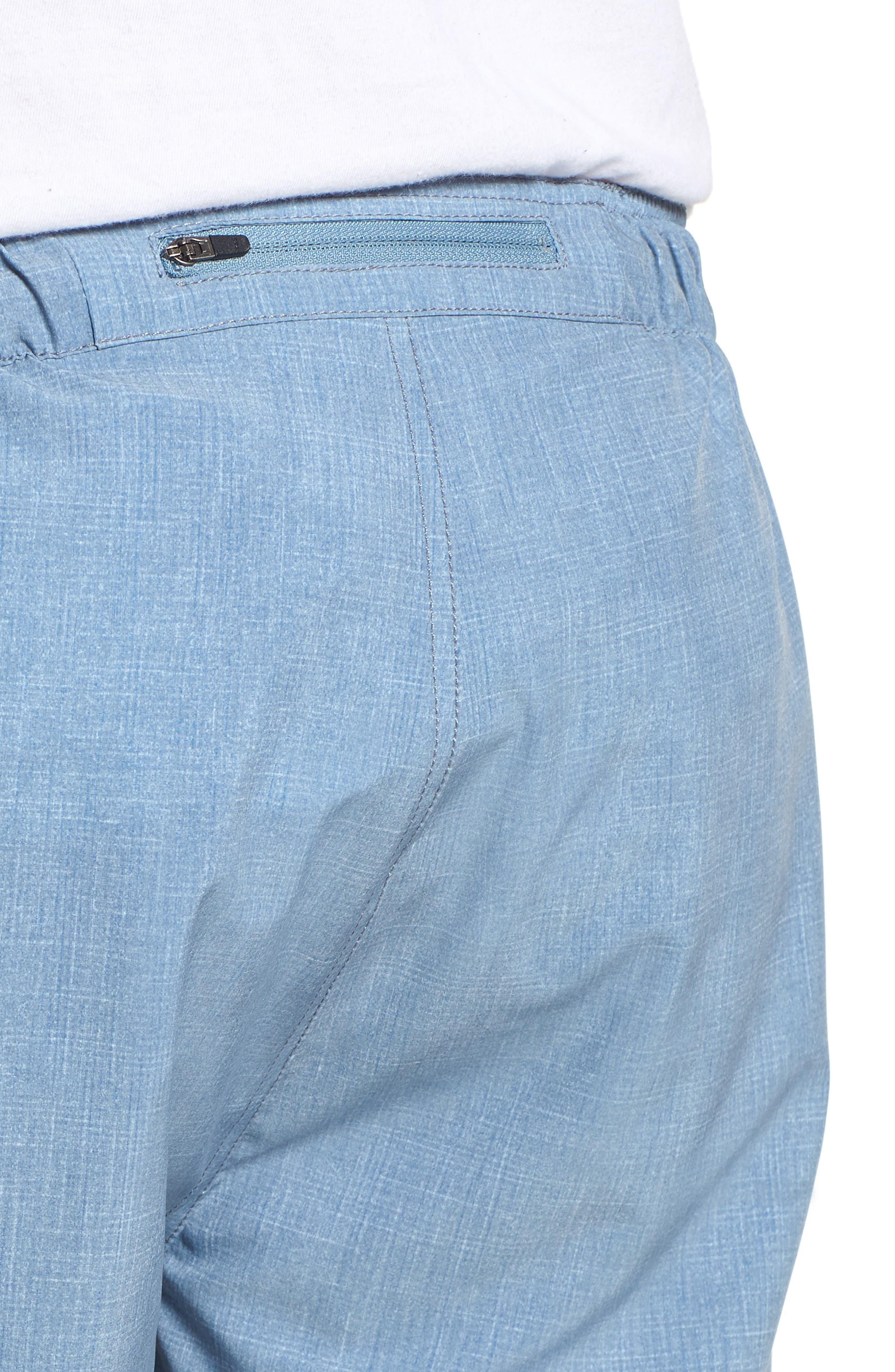 Digits Shorts,                             Alternate thumbnail 4, color,                             HEATHER SHARKSKIN