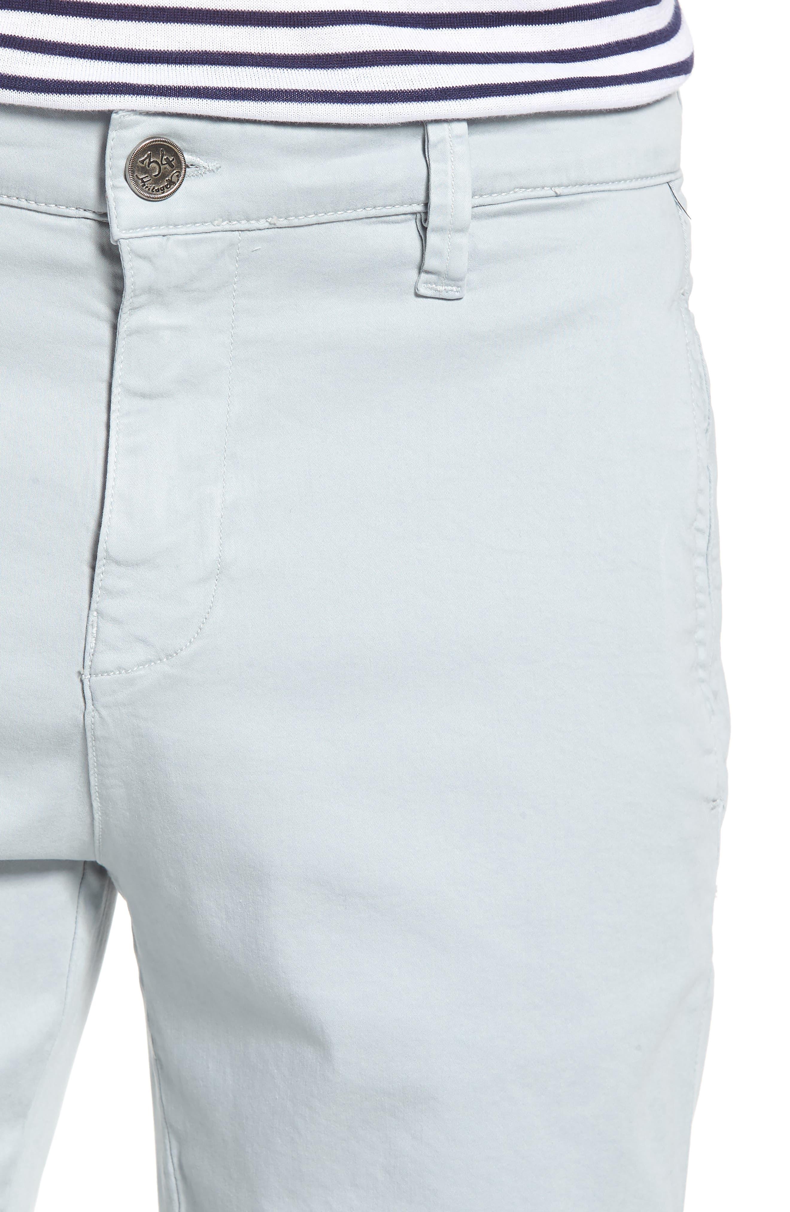 Nevada Twill Shorts,                             Alternate thumbnail 4, color,                             ICE TWILL