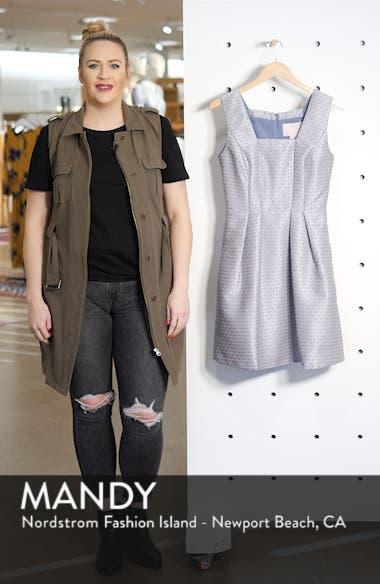 Cosette Jacquard Fit & Flare Dress, sales video thumbnail