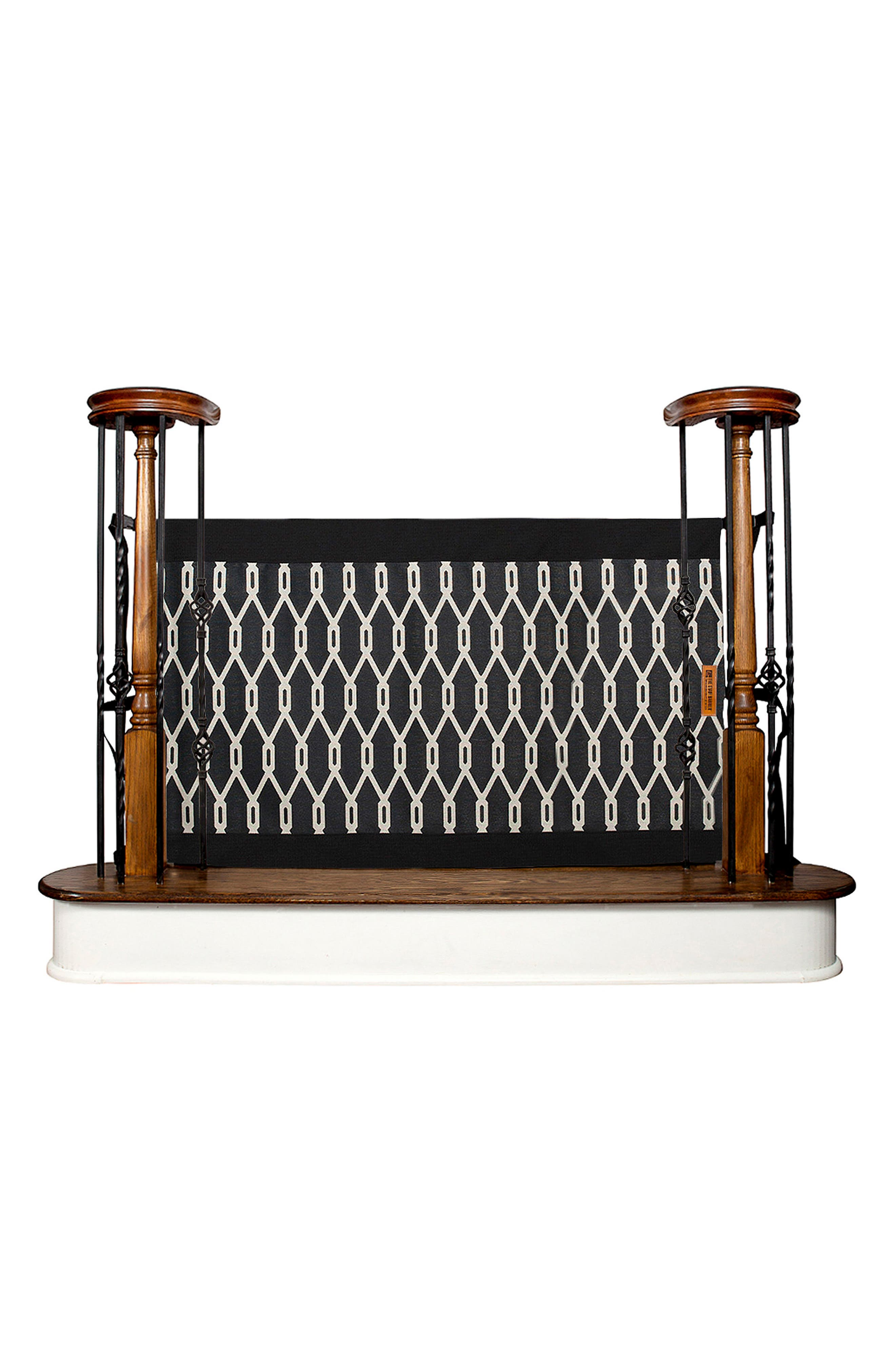 Wall to Banister Indoor Outdoor Safety Gate,                             Alternate thumbnail 2, color,                             002