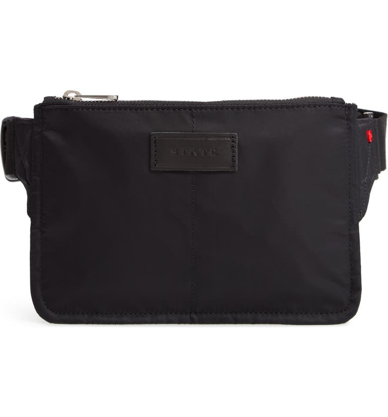 State HOLLY BELT BAG - BLACK