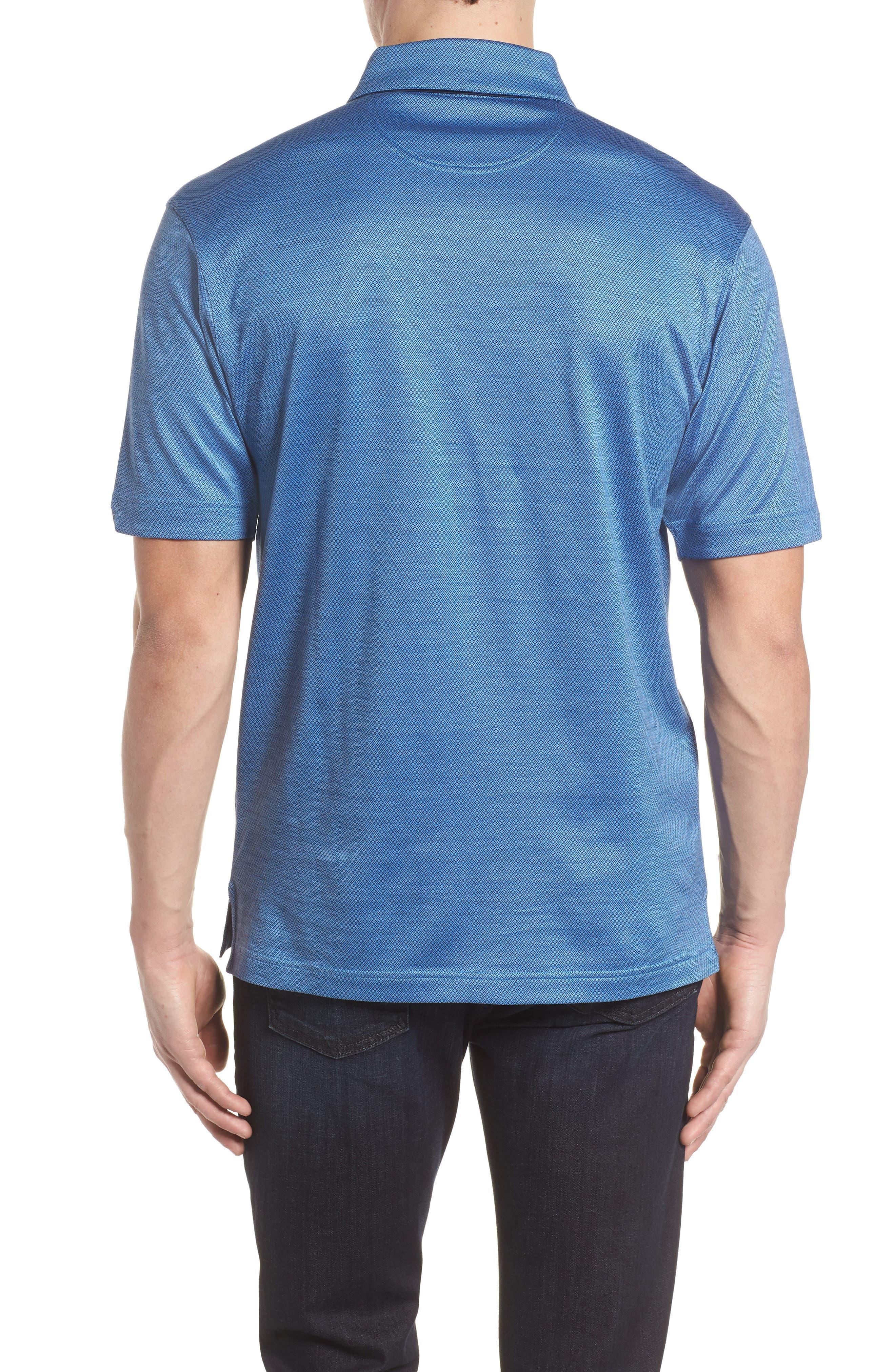Mercerized Cotton Jacquard Polo,                             Alternate thumbnail 7, color,