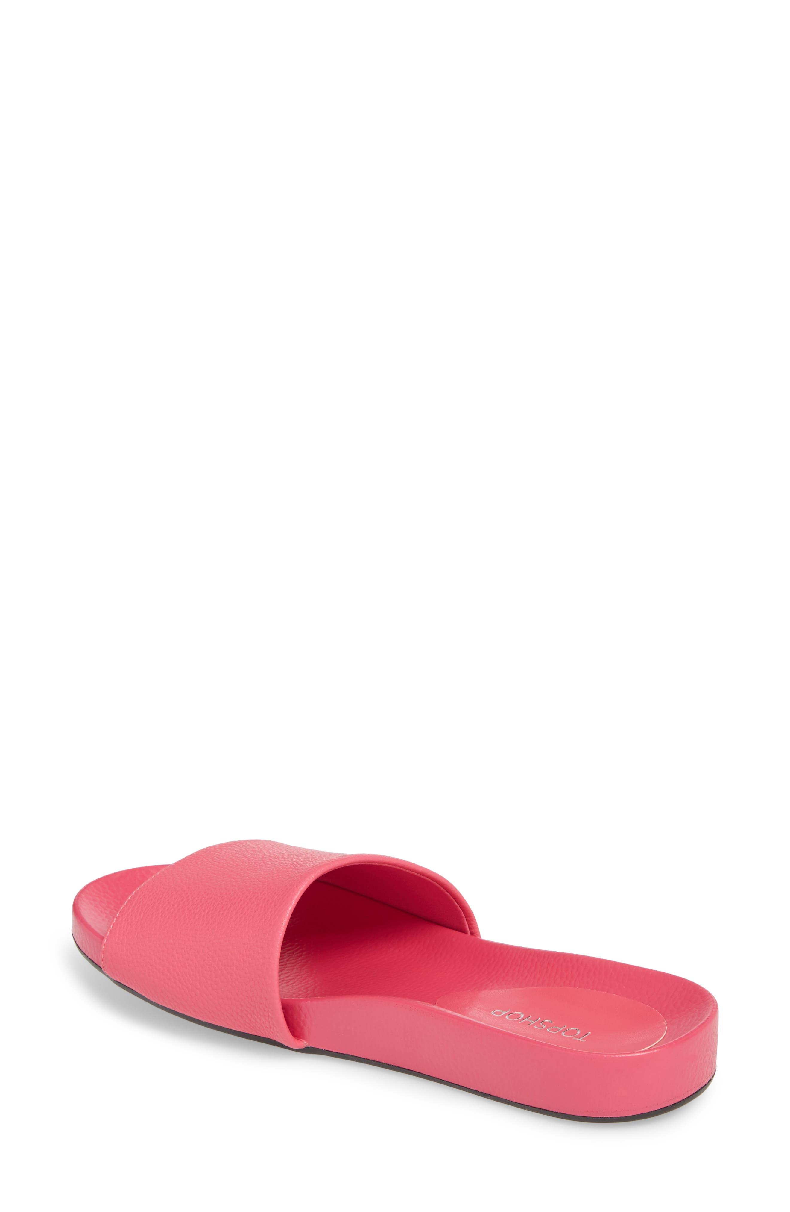 Homie Refined Slide Sandal,                             Alternate thumbnail 2, color,                             PINK