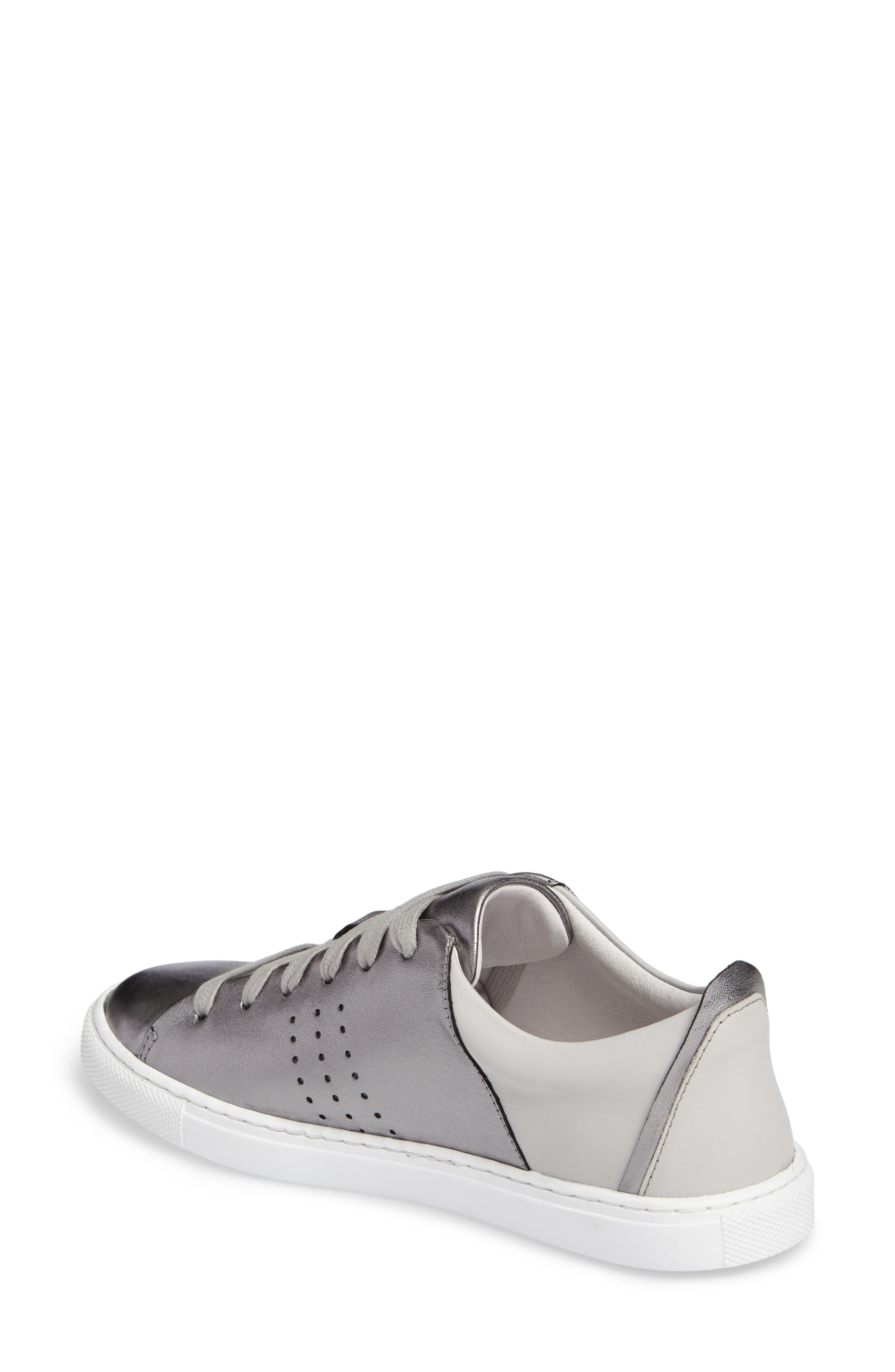 Splits Two-Tone Perforated Sneaker,                             Alternate thumbnail 2, color,                             045