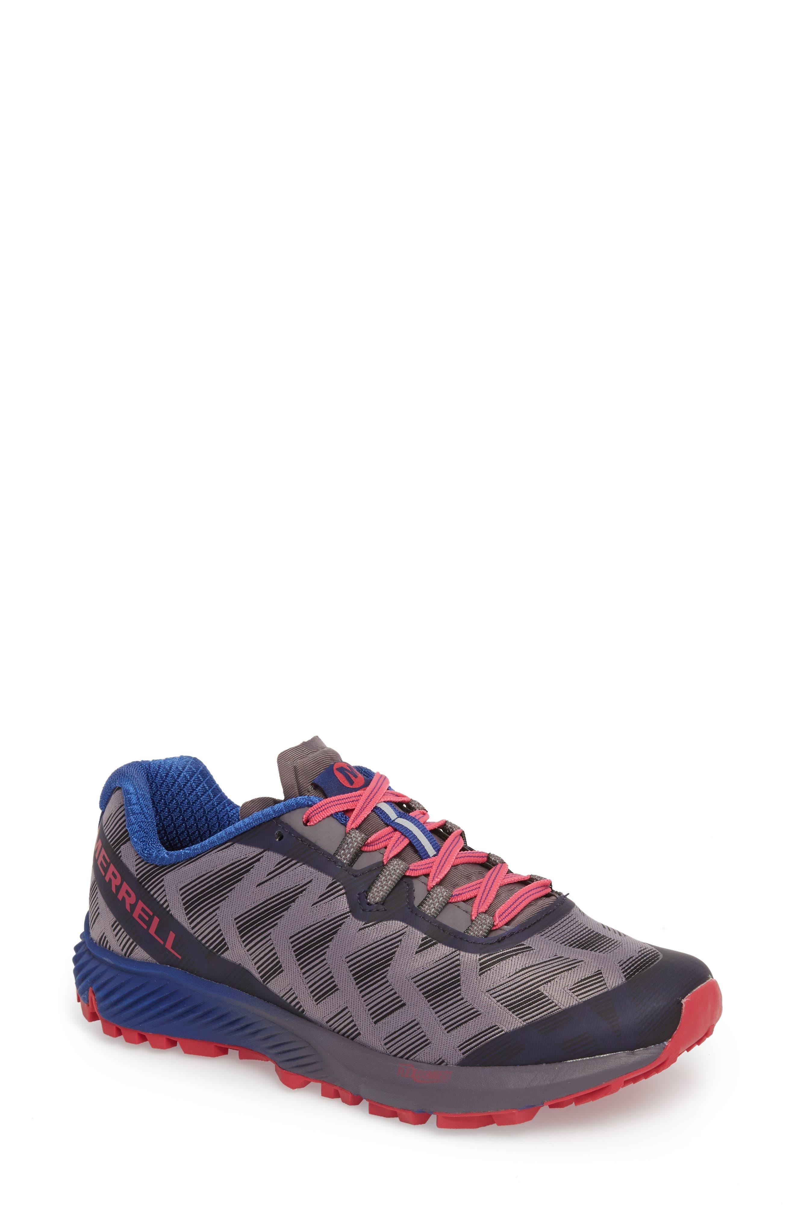 Agility Synthesis Flex Sneaker, Main, color, SHARK FABRIC