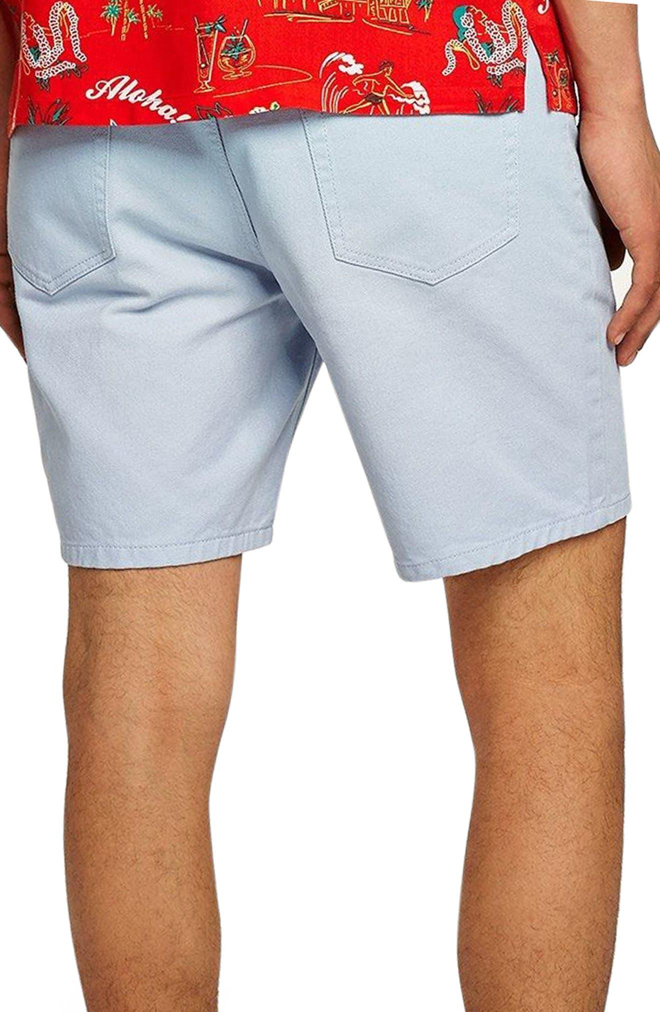 Slim Fit Denim Shorts,                             Alternate thumbnail 2, color,                             400
