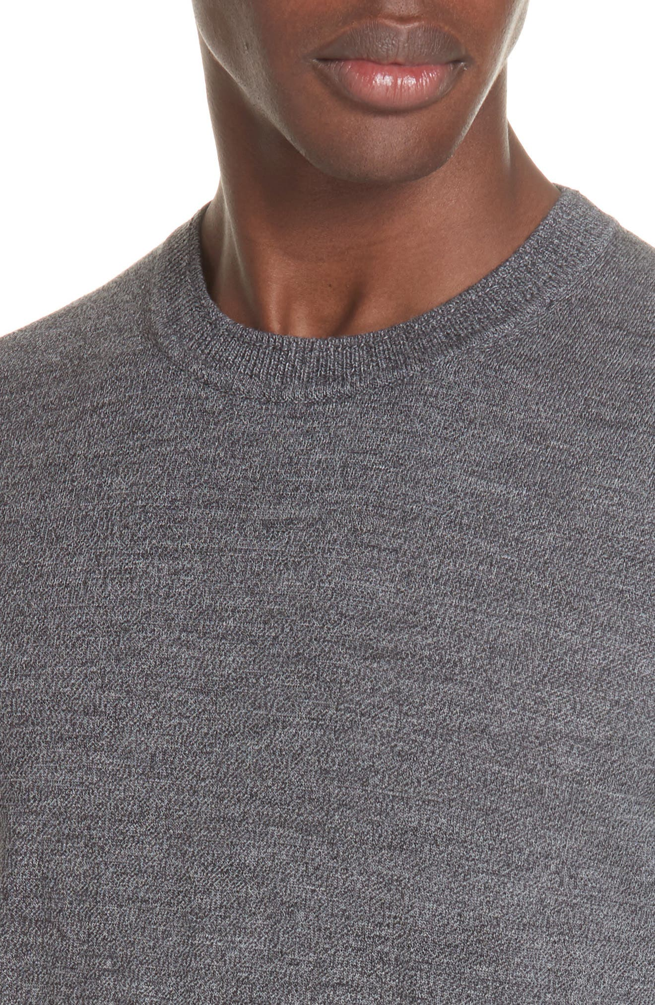 Merino Wool Sweater,                             Alternate thumbnail 4, color,                             028