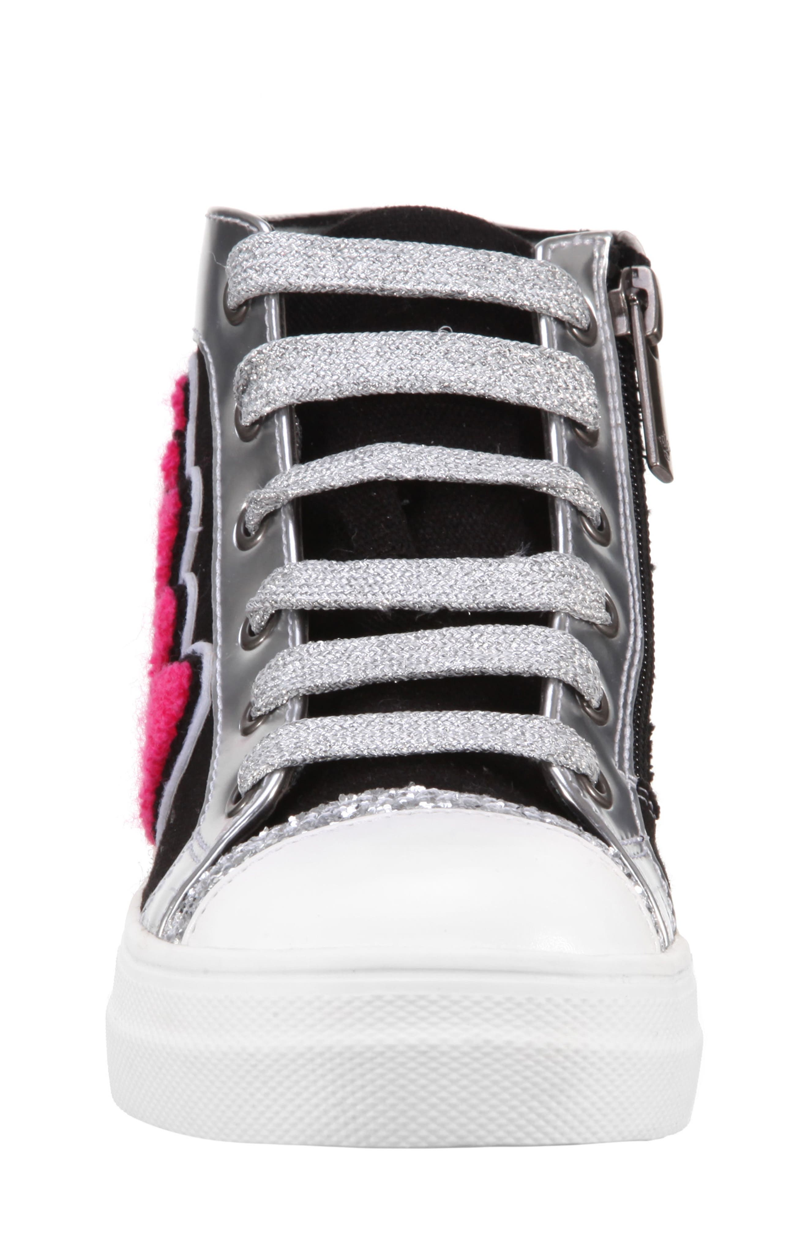 Gita High Top Sneaker,                             Alternate thumbnail 4, color,                             009