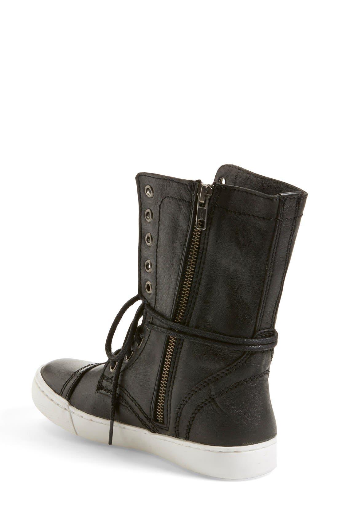 'Resolvve' Sneaker Boot,                             Alternate thumbnail 3, color,                             001
