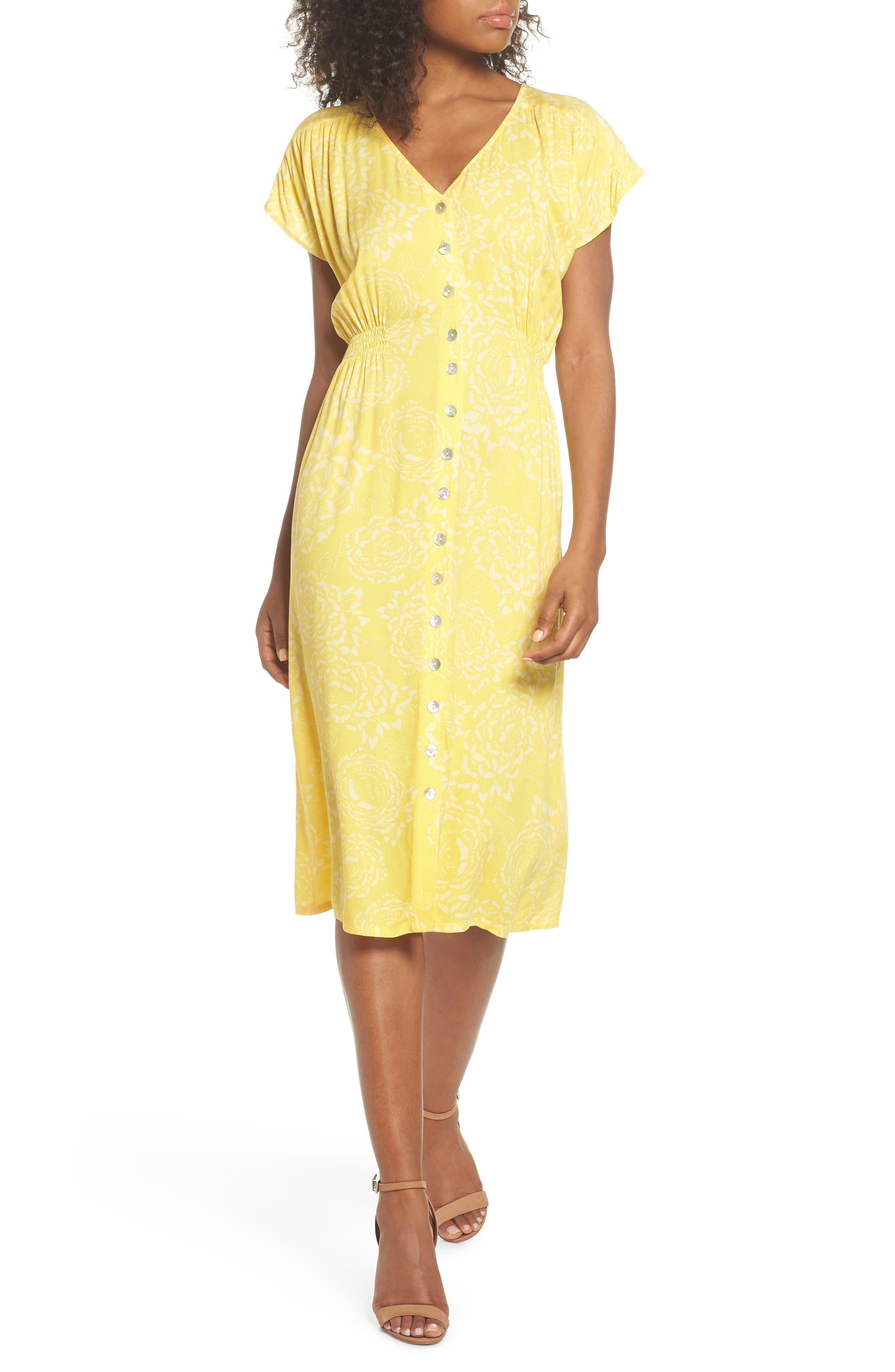 Lido Front Button Sheath Dress,                             Main thumbnail 1, color,                             707