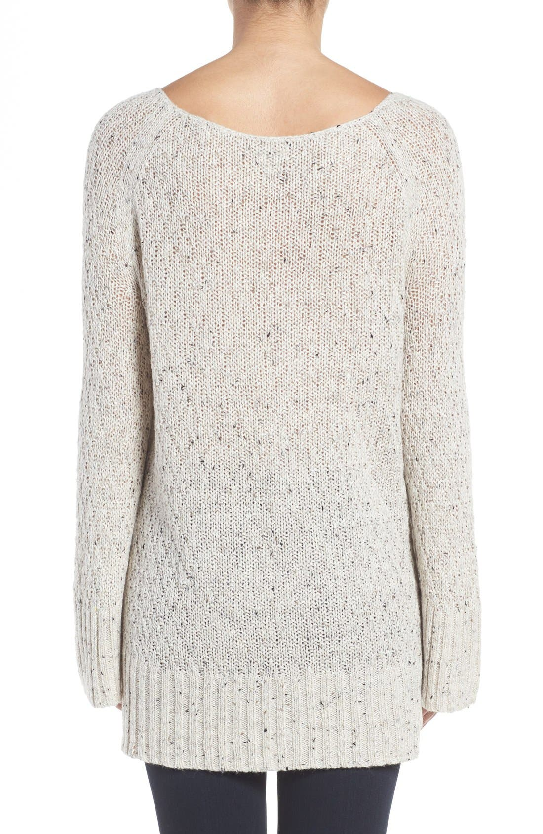 Slouchy Tunic Sweater,                             Alternate thumbnail 19, color,