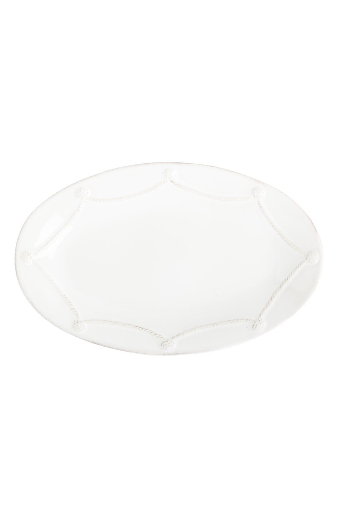 'Berry and Thread' Oval Platter,                             Main thumbnail 1, color,