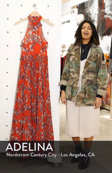 The Zora Chiffon Evening Dress, sales video thumbnail