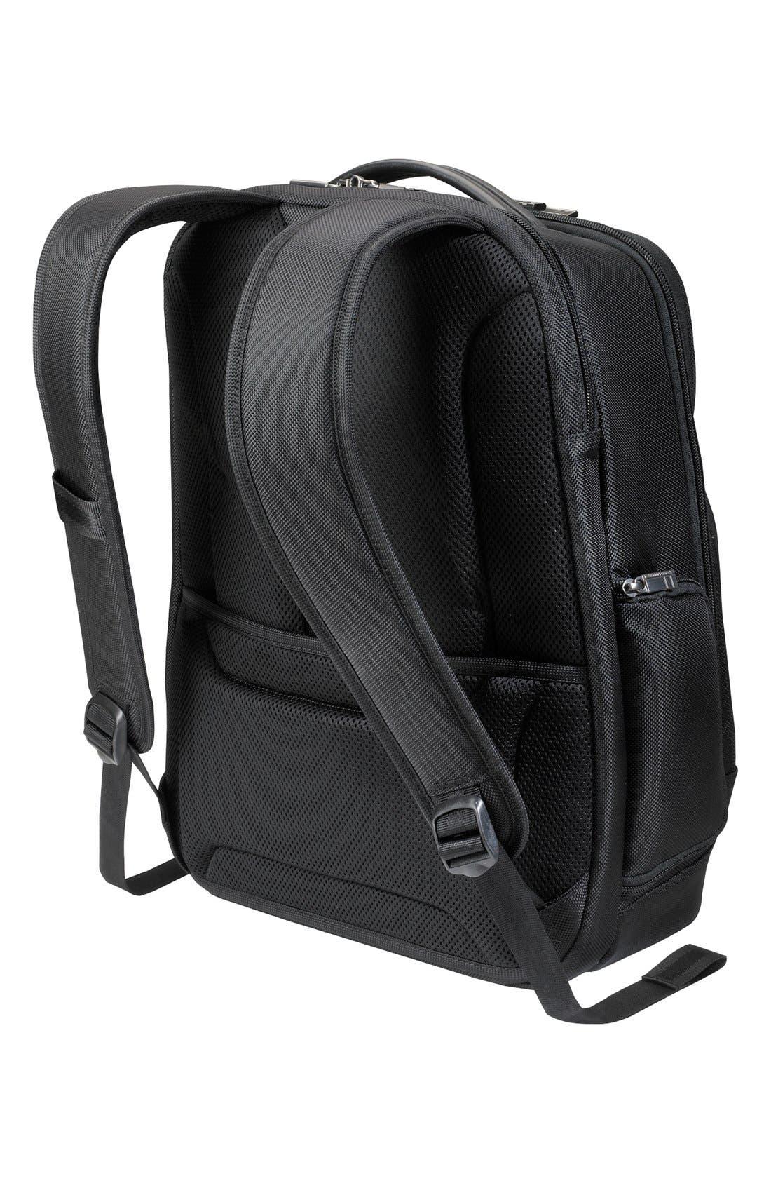 Medium Ballistic Nylon Backpack,                             Alternate thumbnail 4, color,