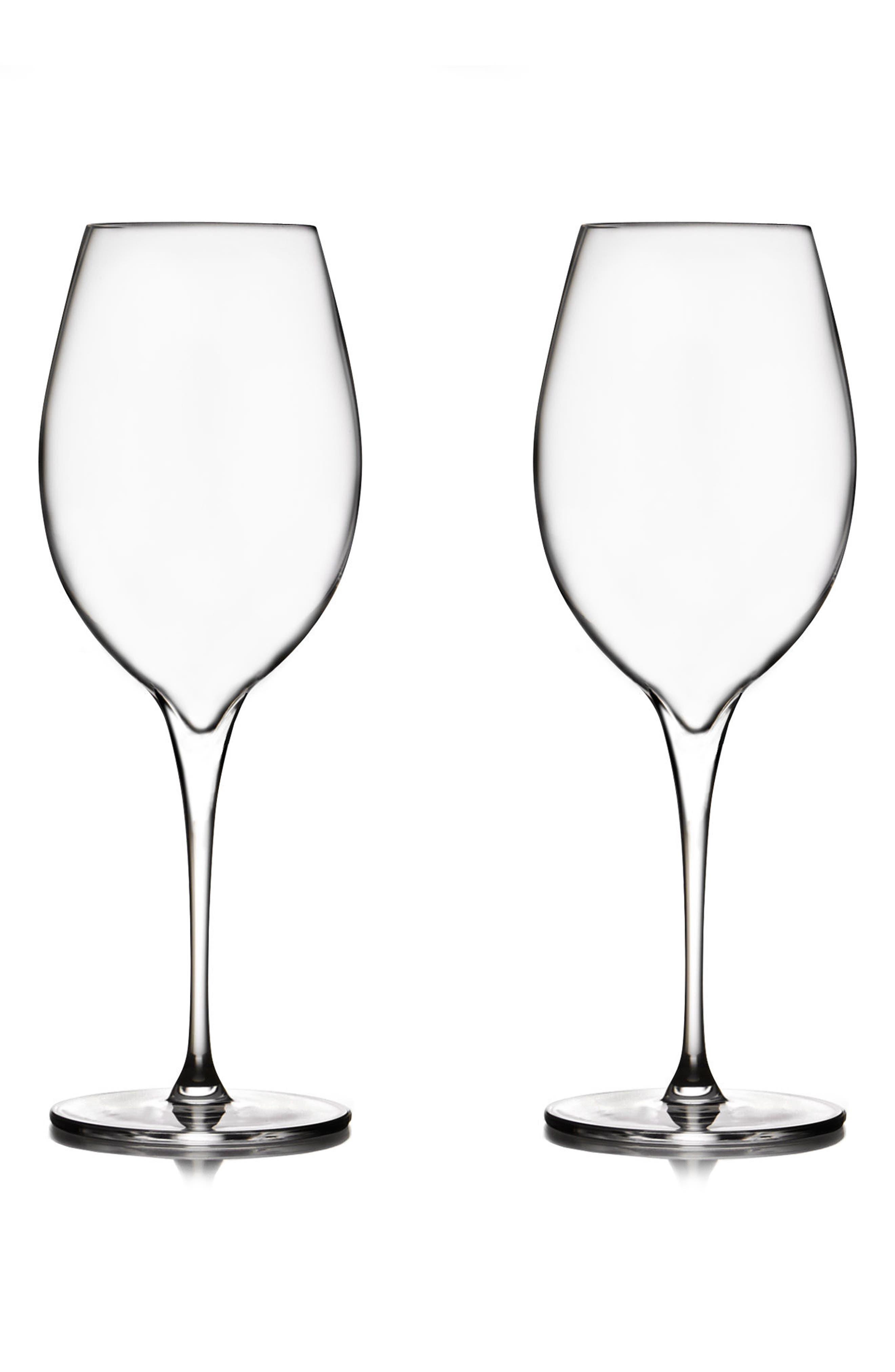 NAMBÉ Vie Set of 2 Pinot Grigio Glasses, Main, color, 100