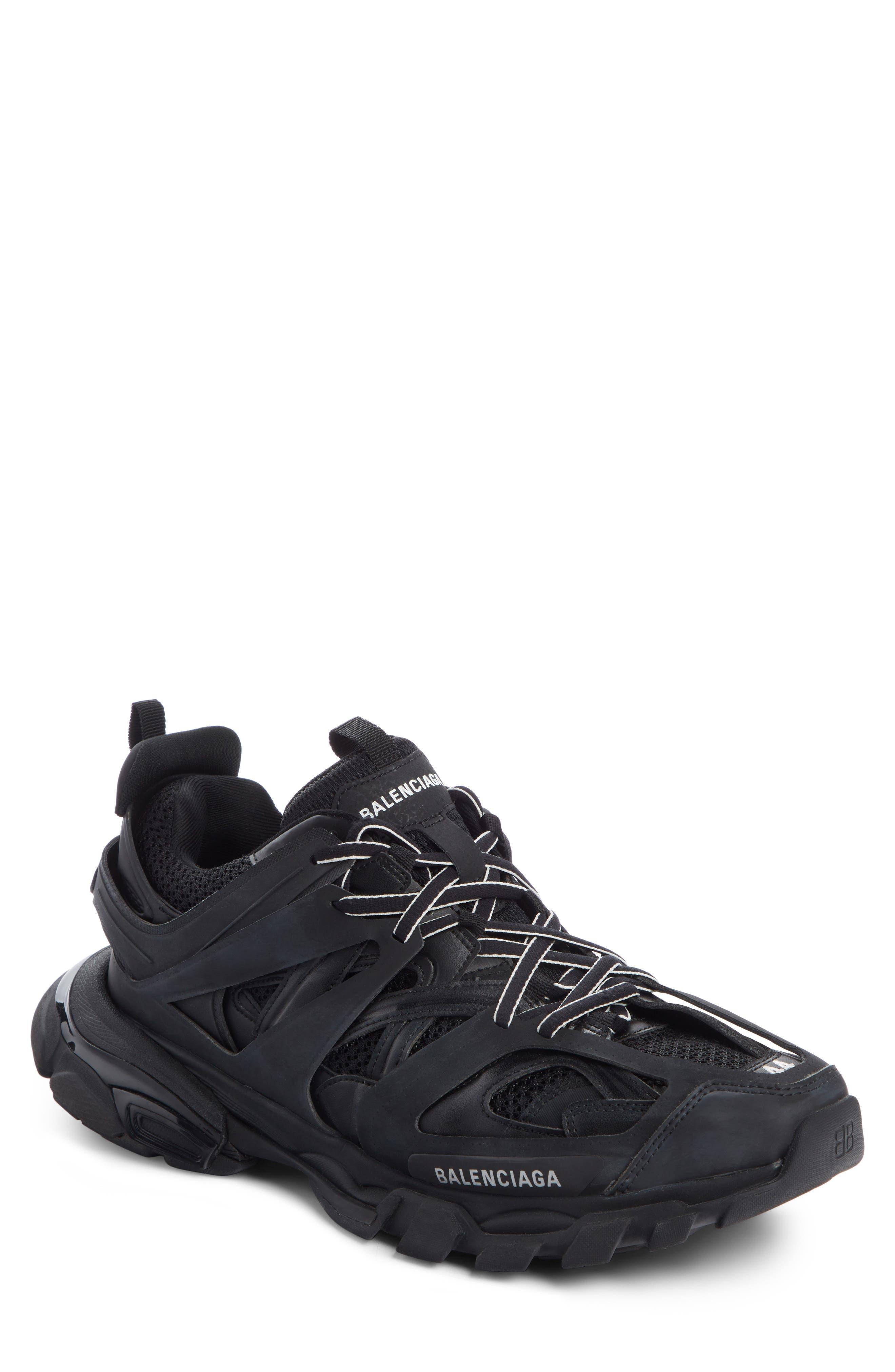 Track Sneaker,                             Main thumbnail 1, color,                             BLACK