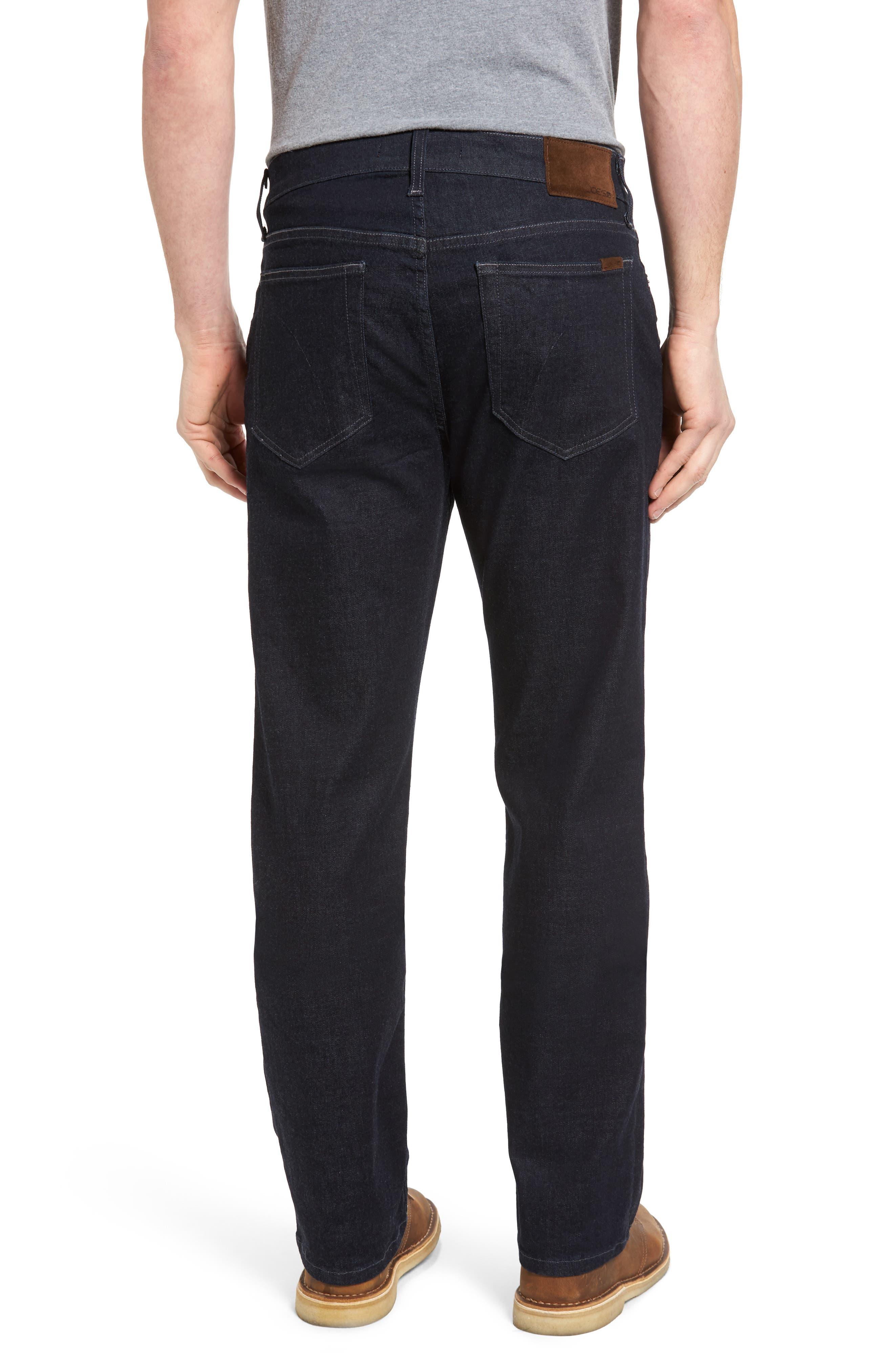 Classic Straight Leg Jeans,                             Alternate thumbnail 2, color,                             400