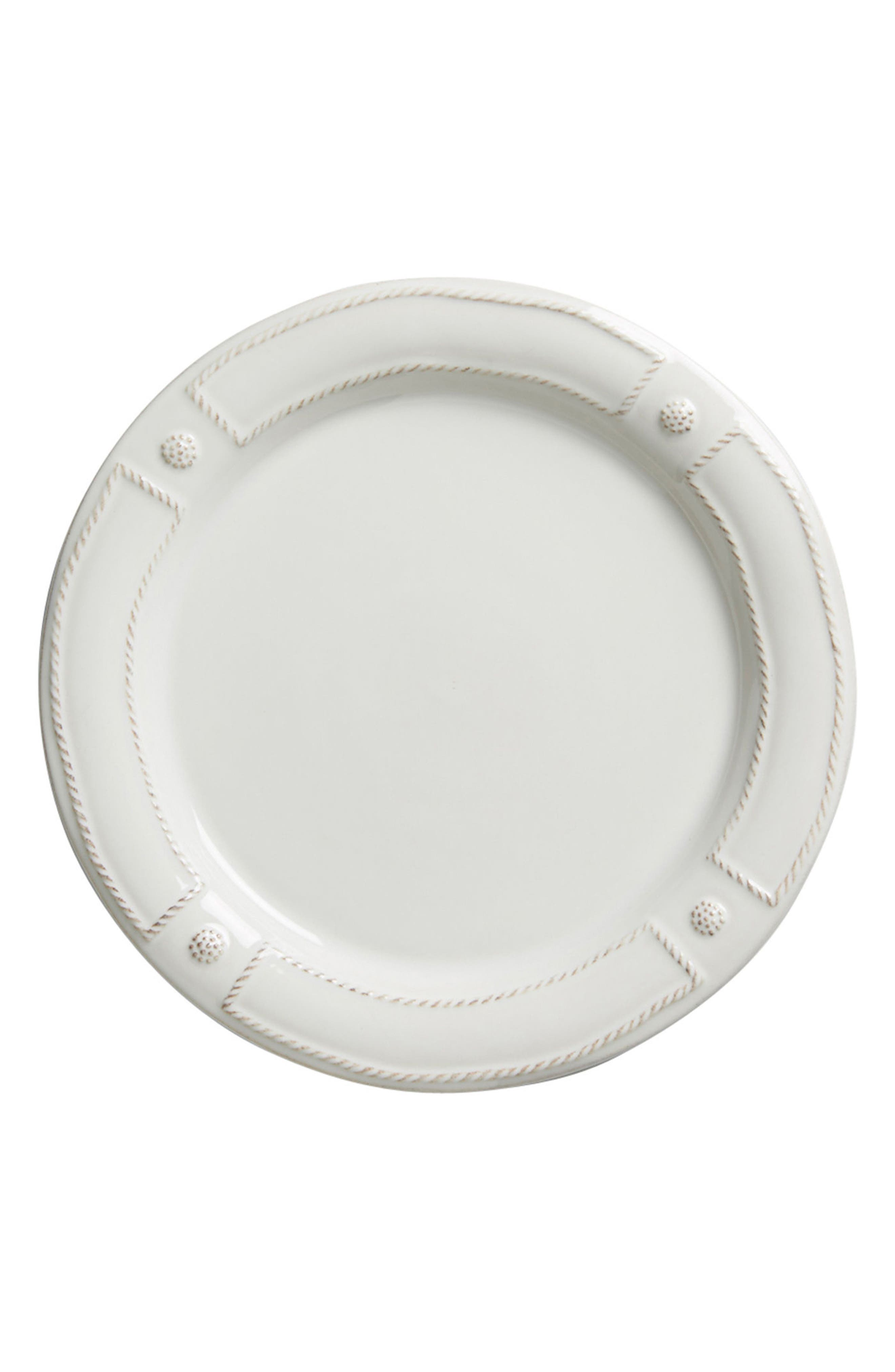 Berry & Thread Dinner Plate,                         Main,                         color, WHITEWASH