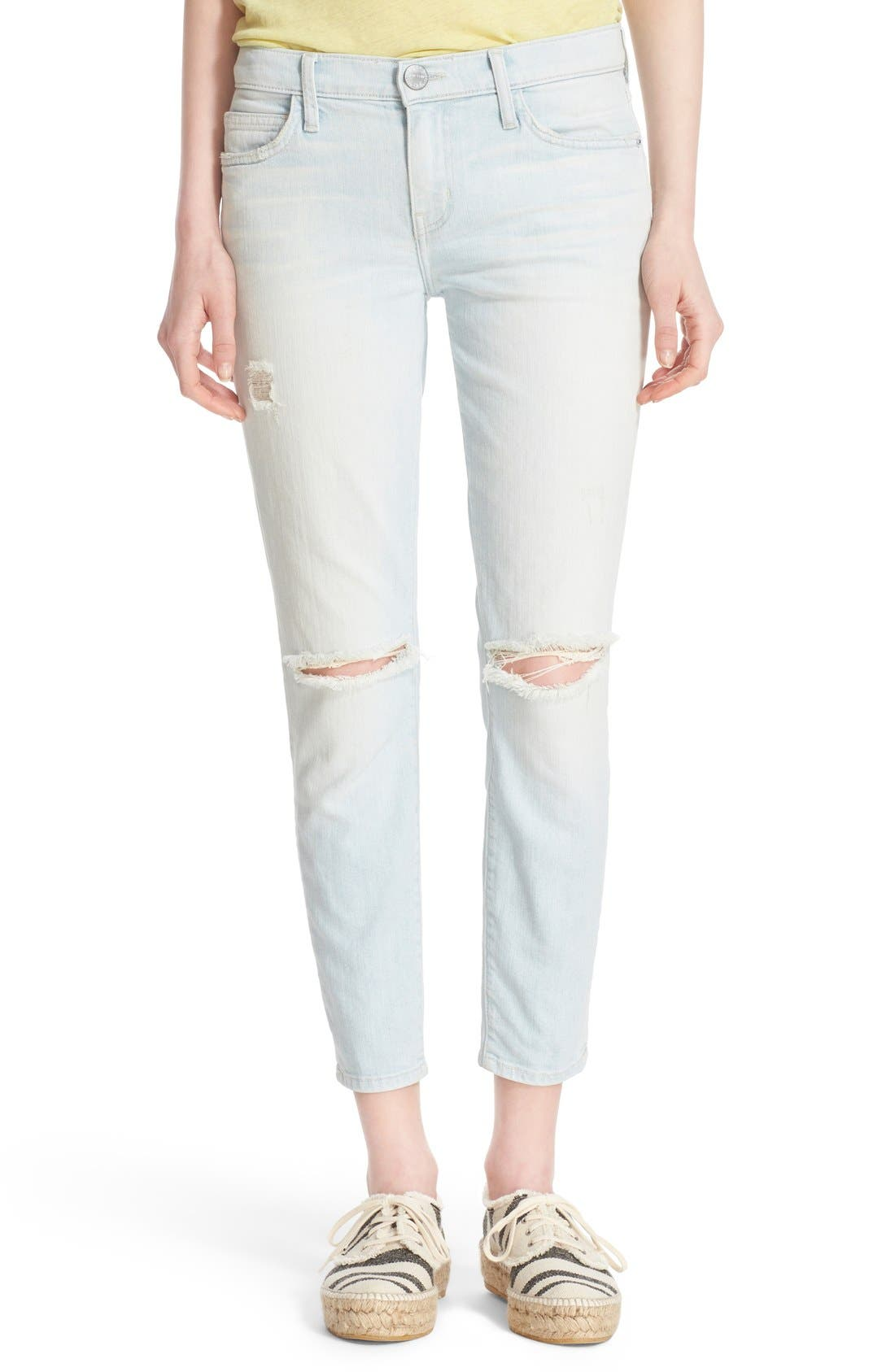 'The Stiletto' Destroyed Skinny Jeans,                             Main thumbnail 11, color,