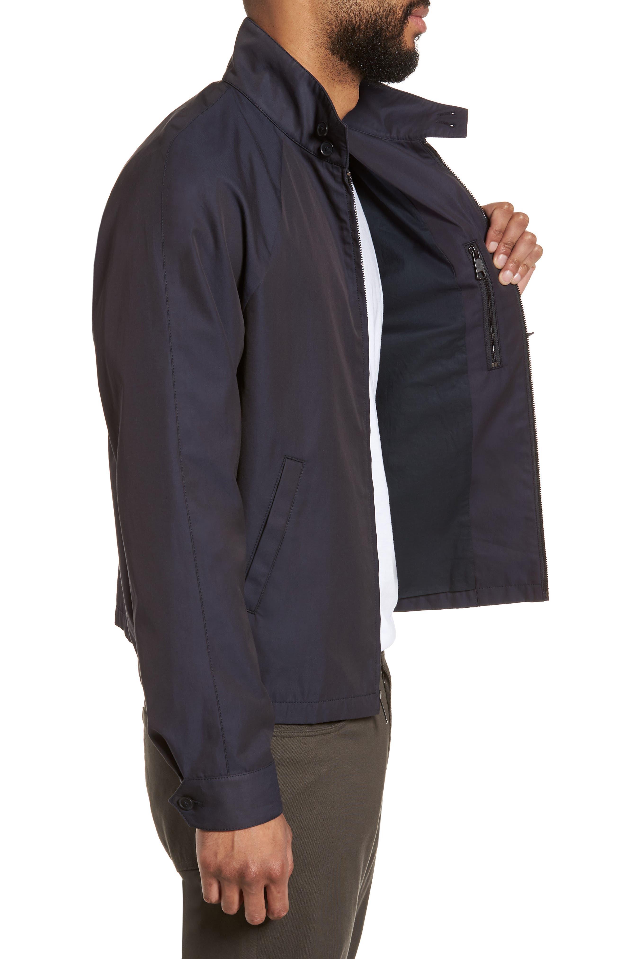 Regular Fit Jacket,                             Alternate thumbnail 3, color,                             NAVY