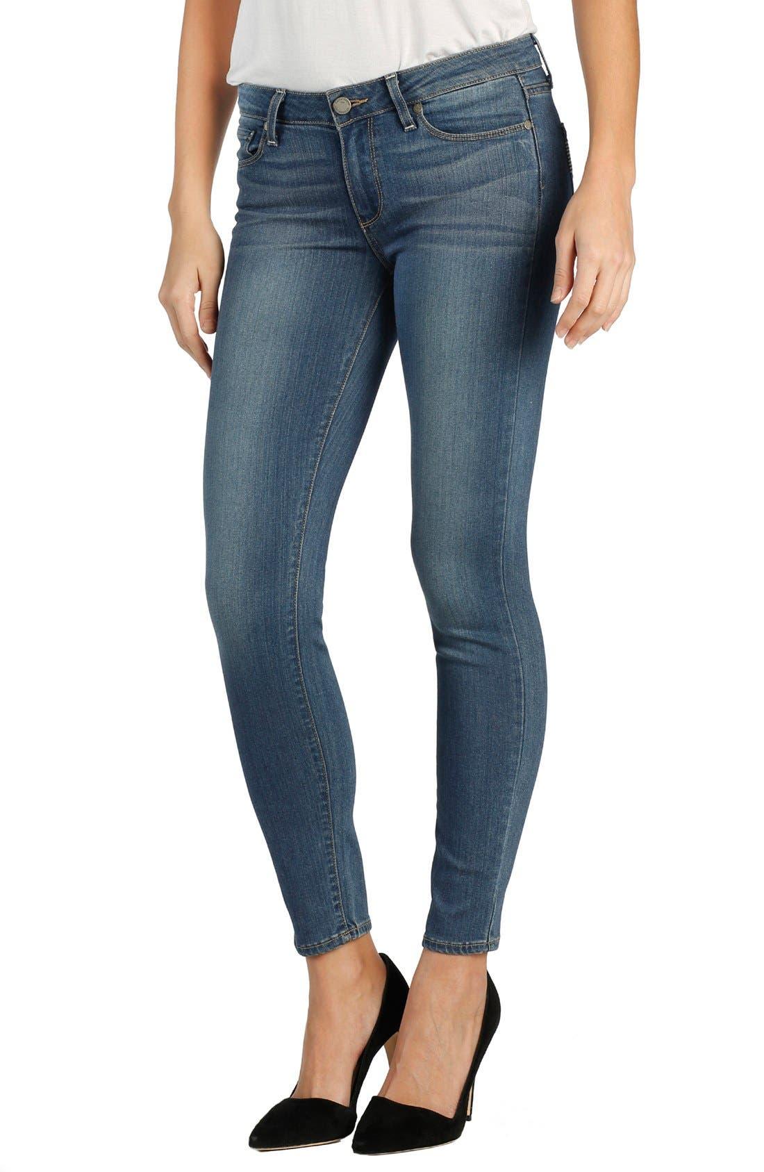 Transcend - Verdugo Ankle Skinny Jeans,                         Main,                         color, TRISTAN