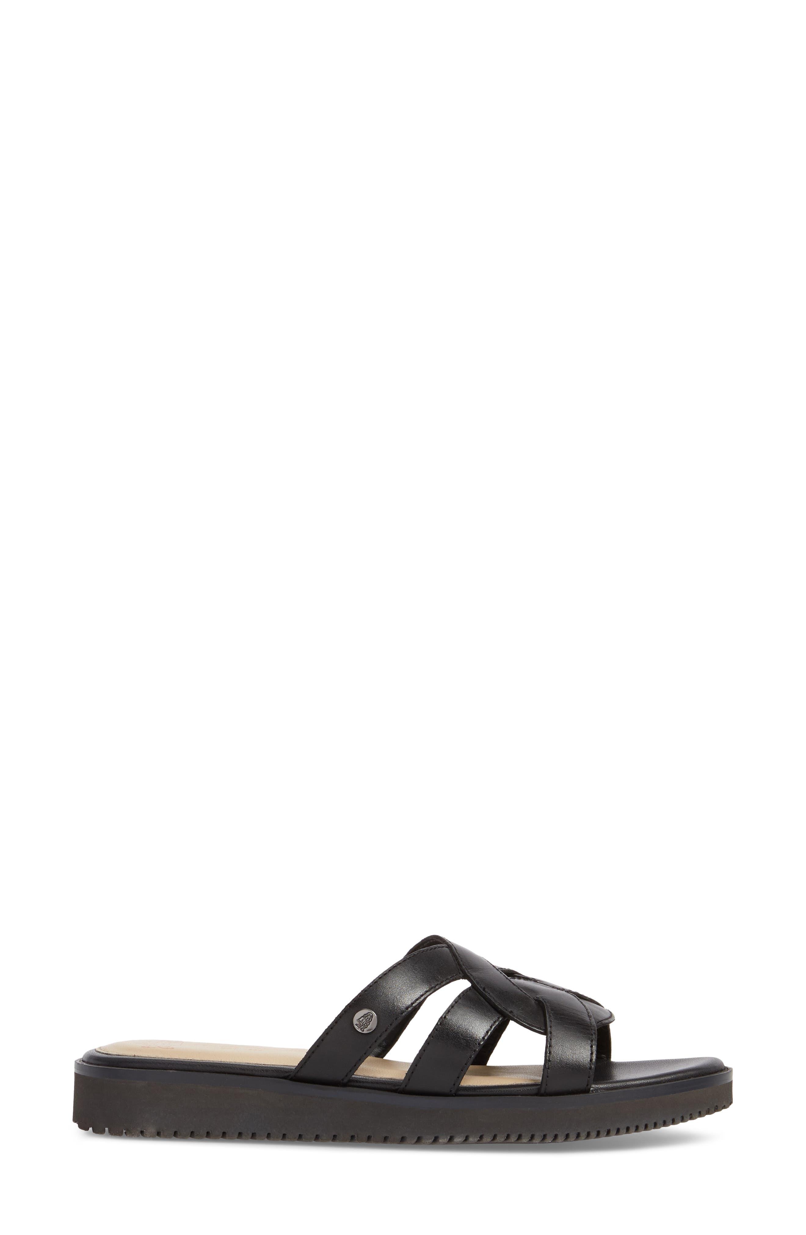 Braid Slide Sandal,                             Alternate thumbnail 3, color,                             007
