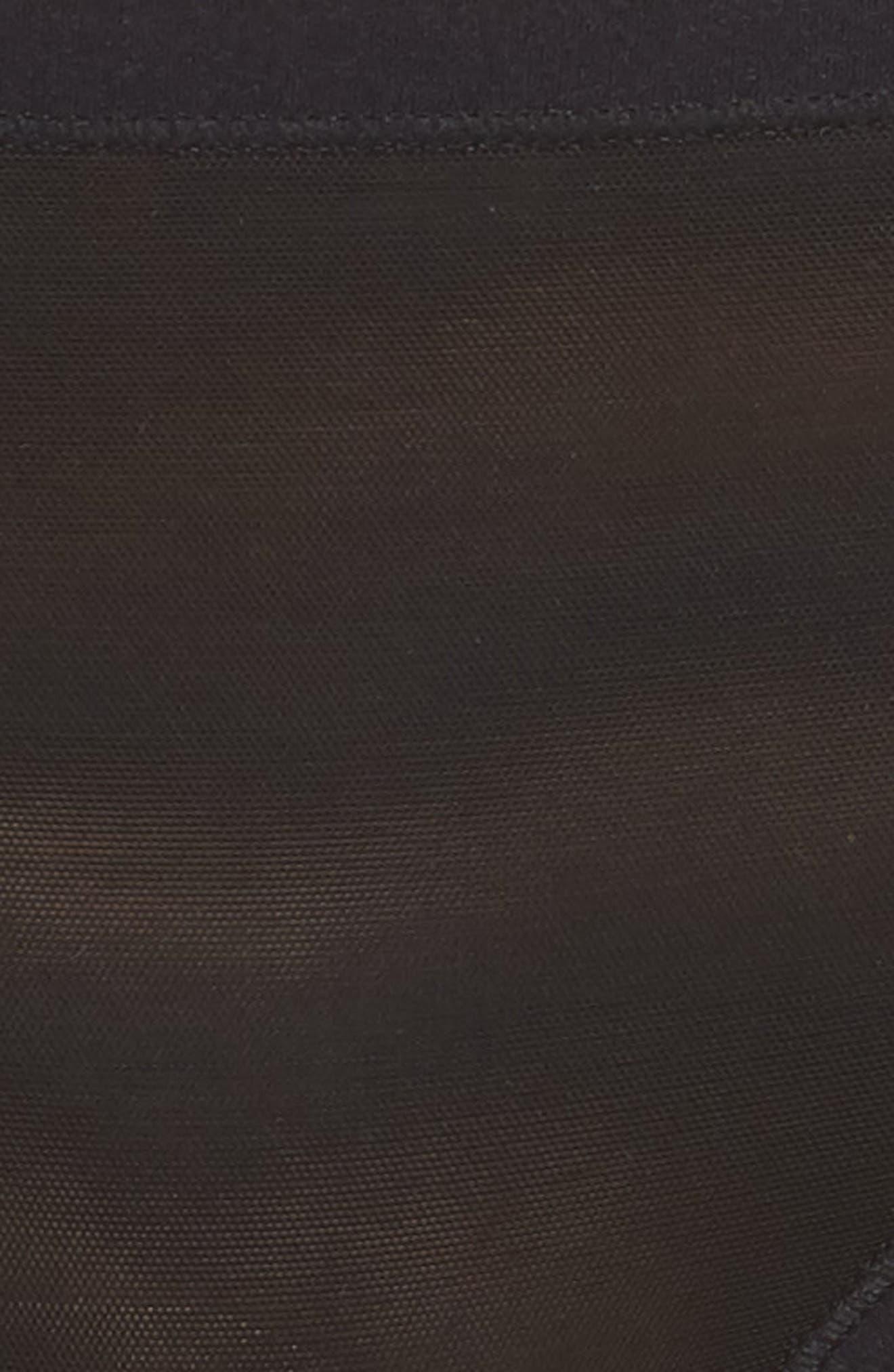 NATORI,                             Bliss Light Bikini,                             Alternate thumbnail 5, color,                             BLACK