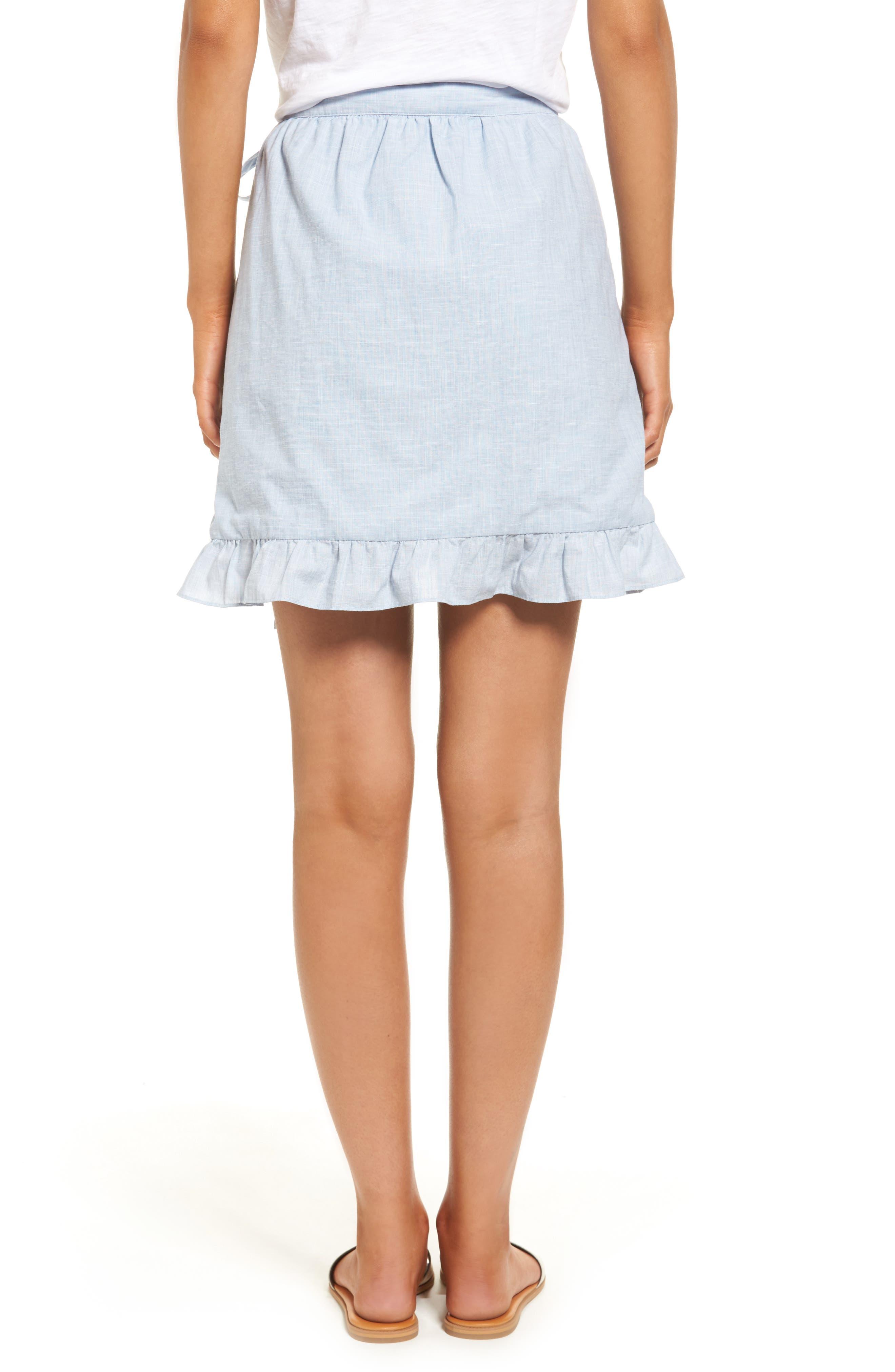 Meadow Wrap Skirt,                             Alternate thumbnail 2, color,                             400