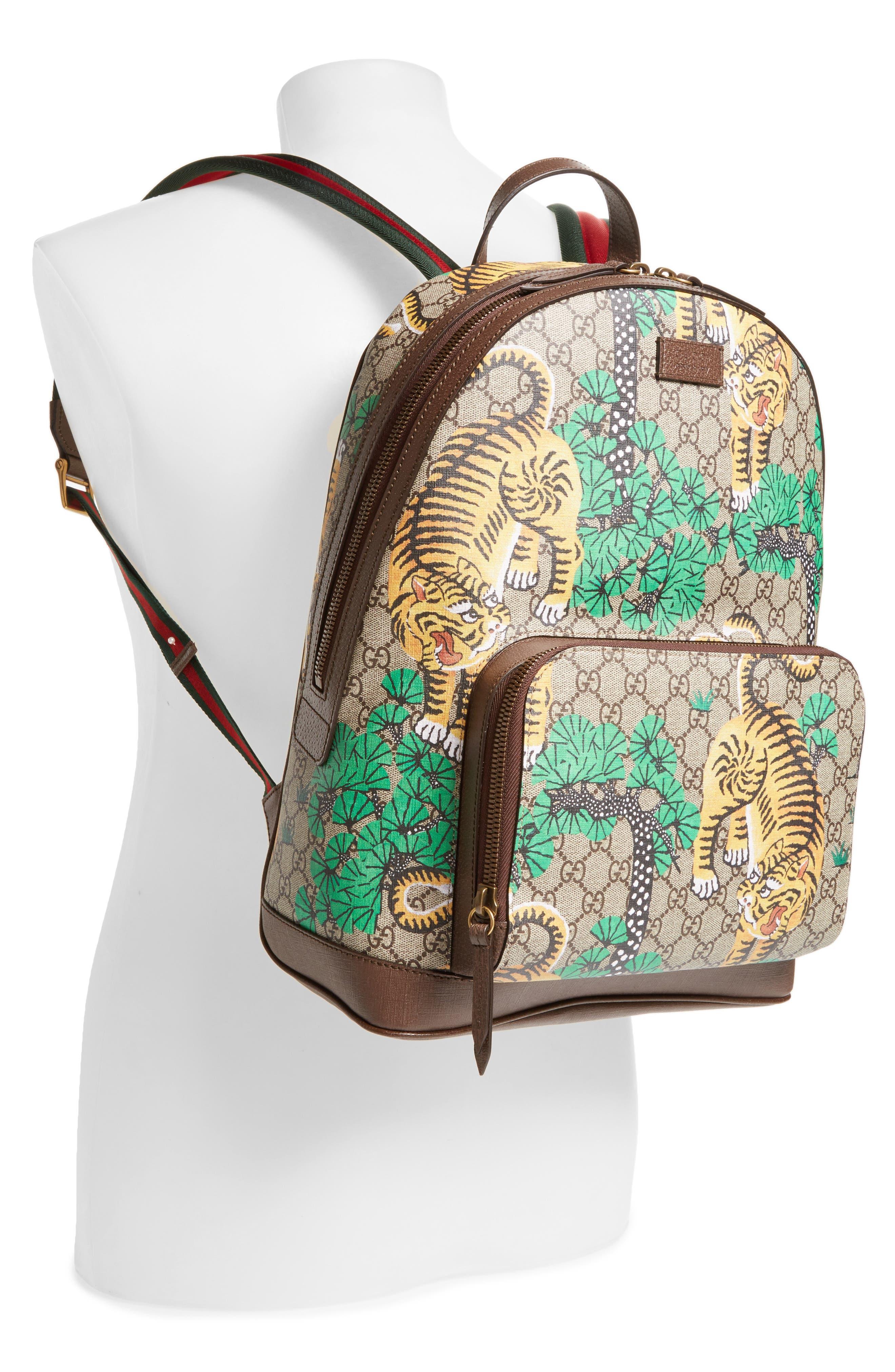 Tiger Cub Supreme Canvas Backpack,                             Alternate thumbnail 2, color,                             250