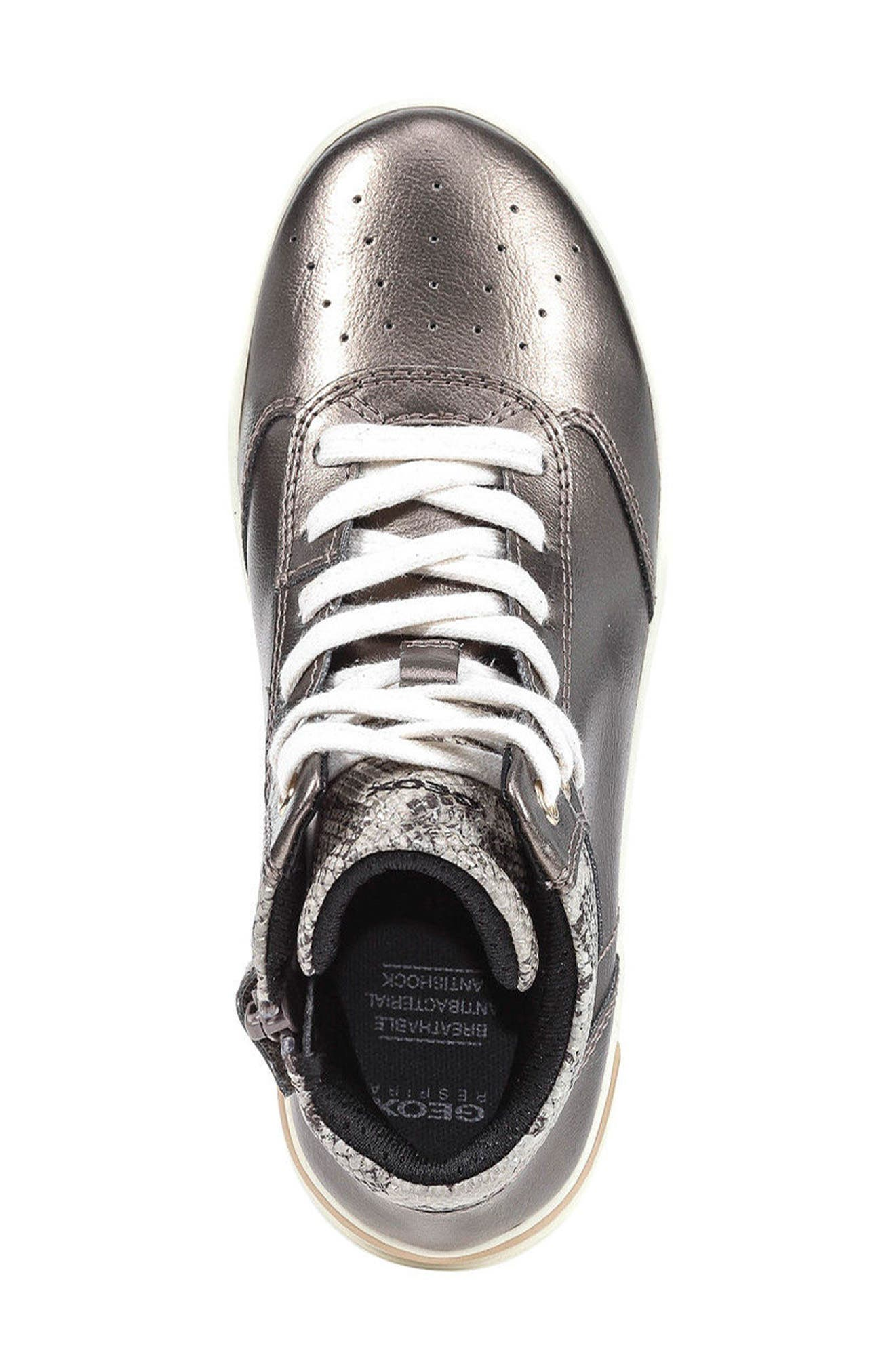 Cave Up Girl High Top Sneaker,                             Alternate thumbnail 10, color,