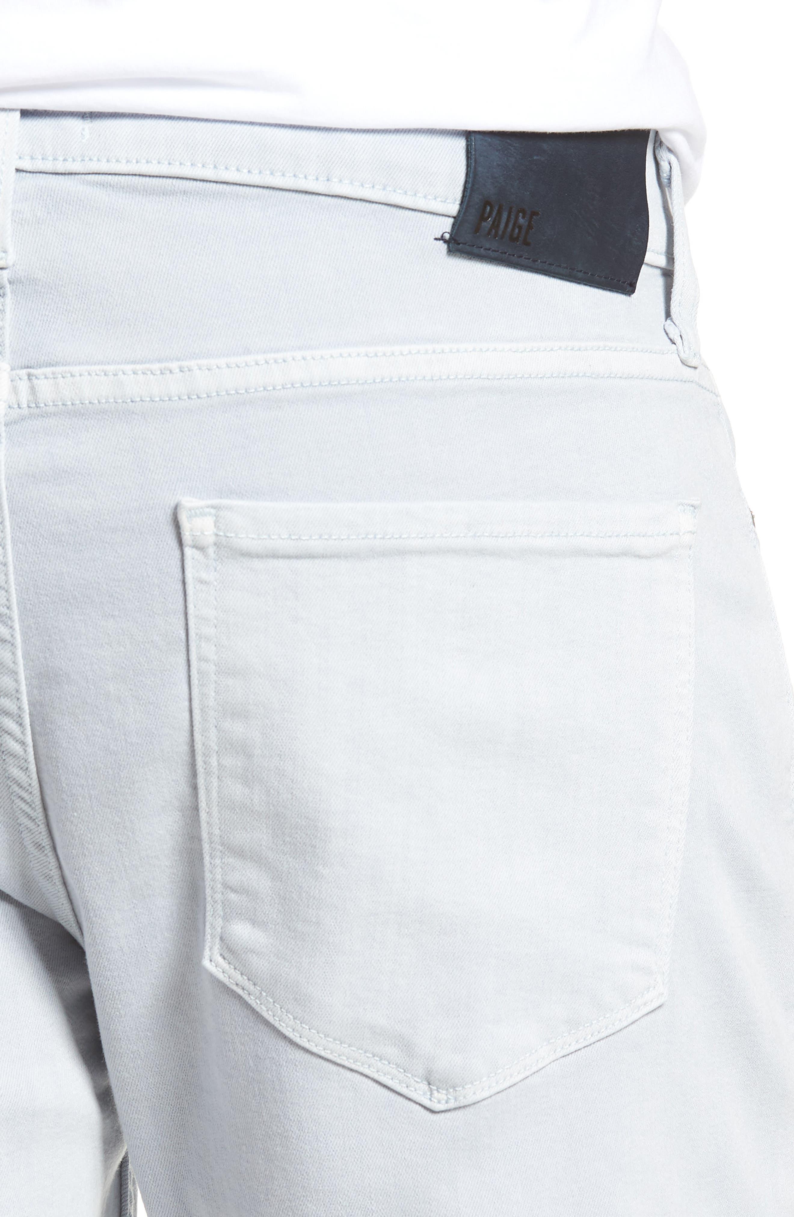Transcend - Federal Slim Straight Leg Jeans,                             Alternate thumbnail 4, color,                             450