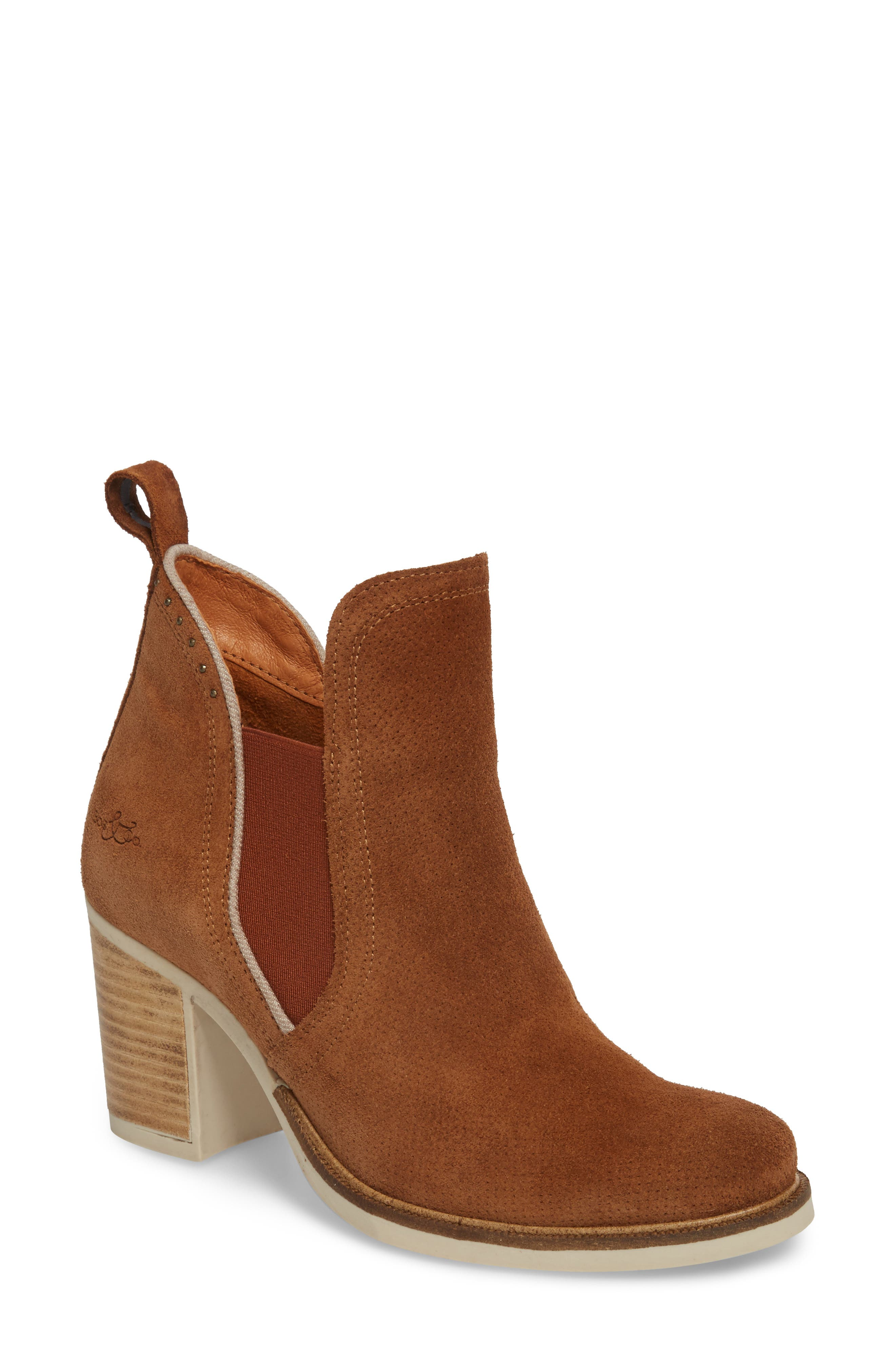 Breves Boot,                         Main,                         color, WHISKY/ BEIGE SUEDE