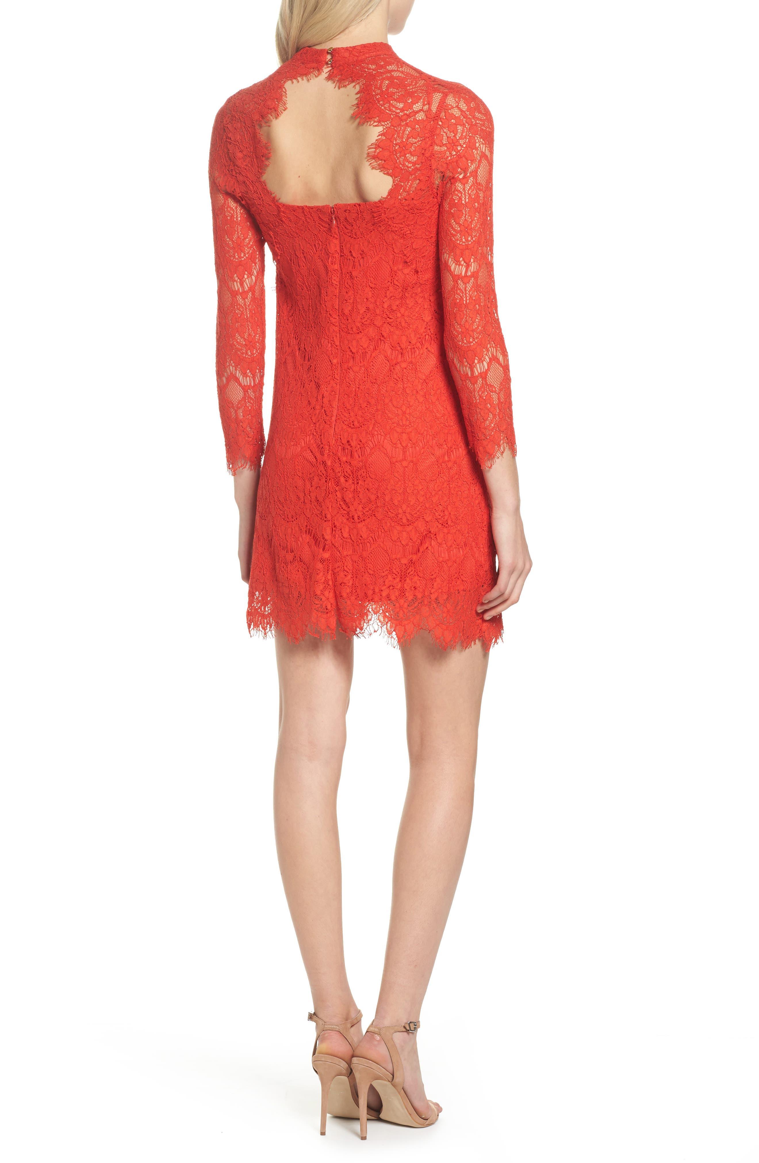 Lace Sheath Dress,                             Alternate thumbnail 2, color,                             640