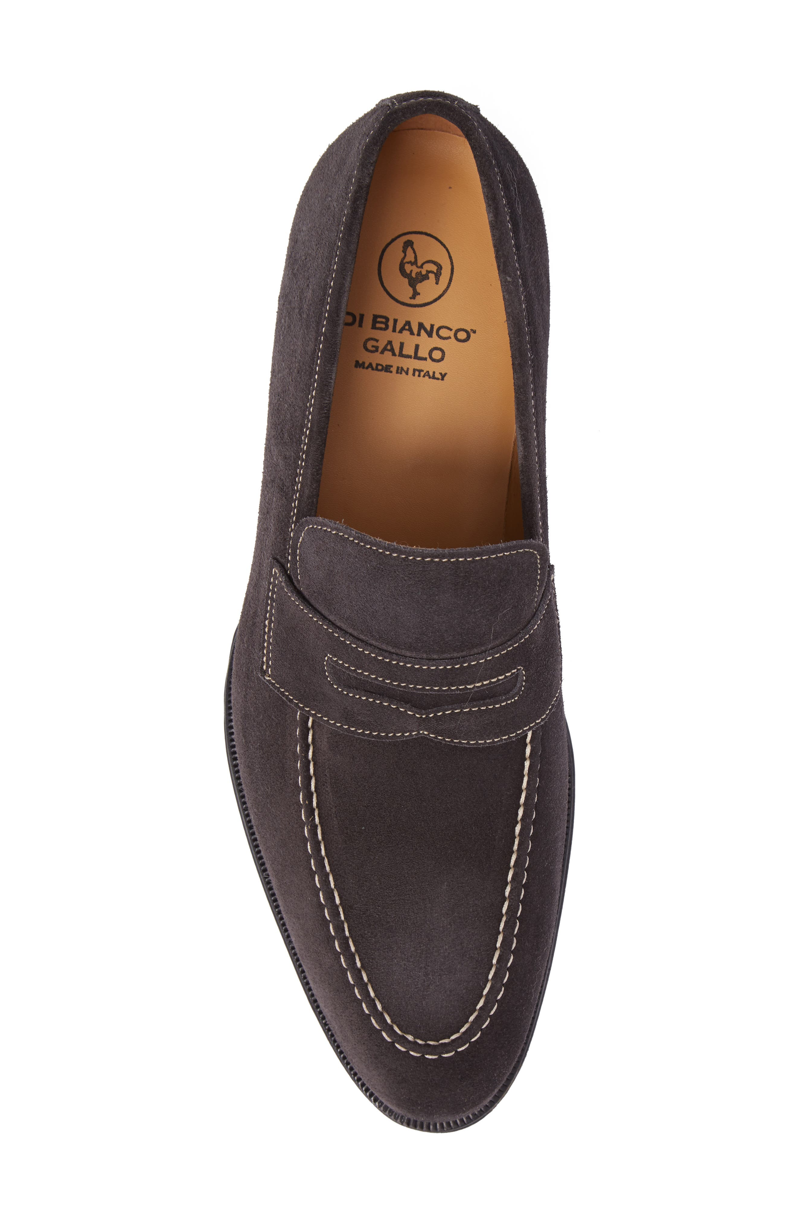 Leather Penny Loafer,                             Alternate thumbnail 21, color,
