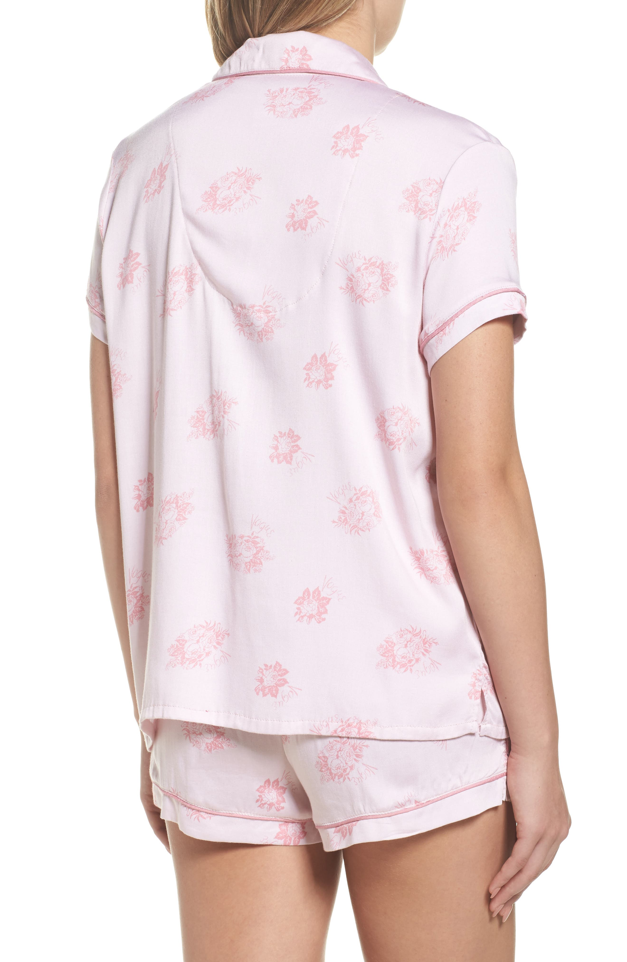 Shortie Pajamas,                             Alternate thumbnail 4, color,