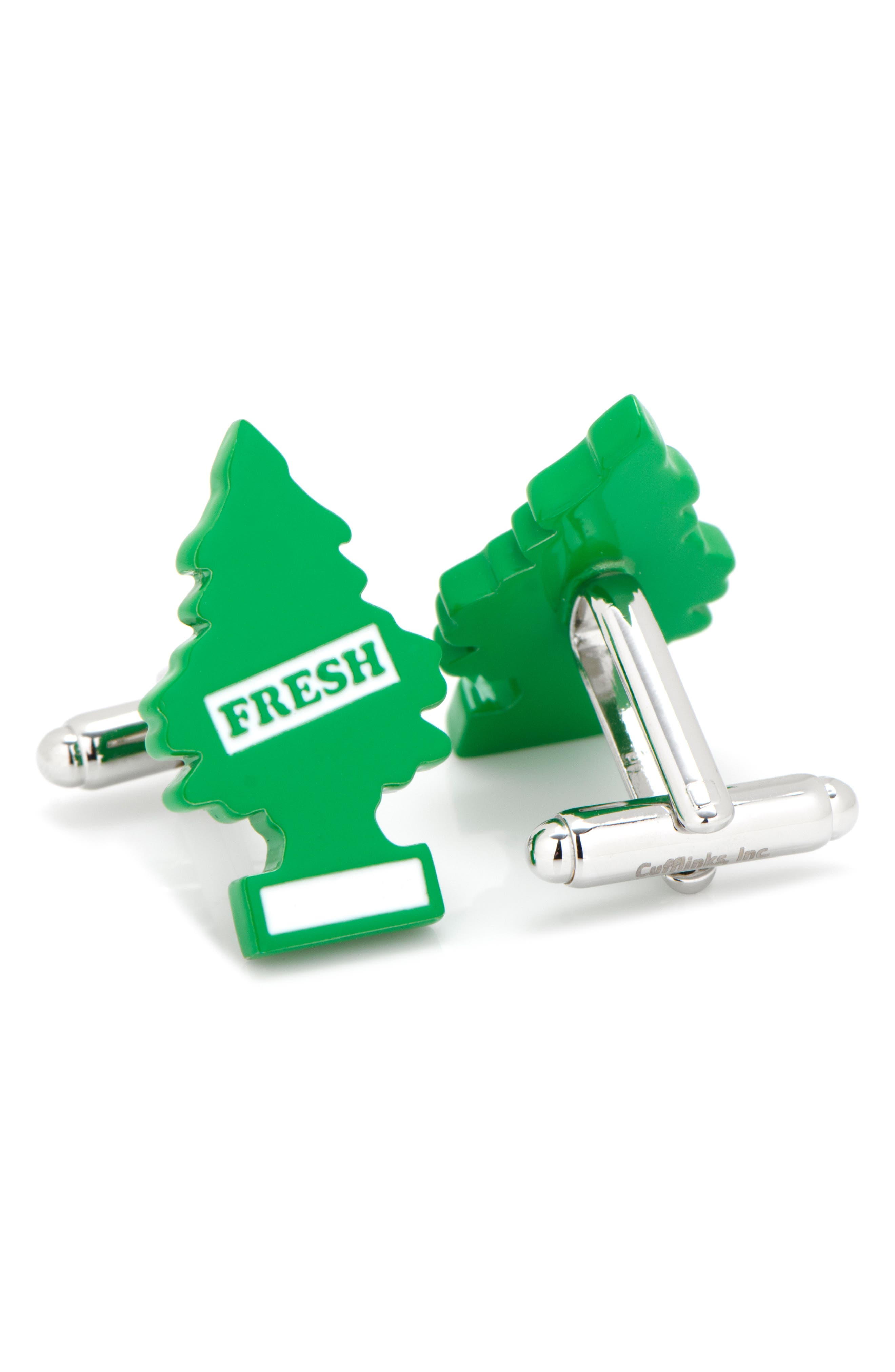 Air Freshener Cuff Links,                             Alternate thumbnail 2, color,                             GREEN