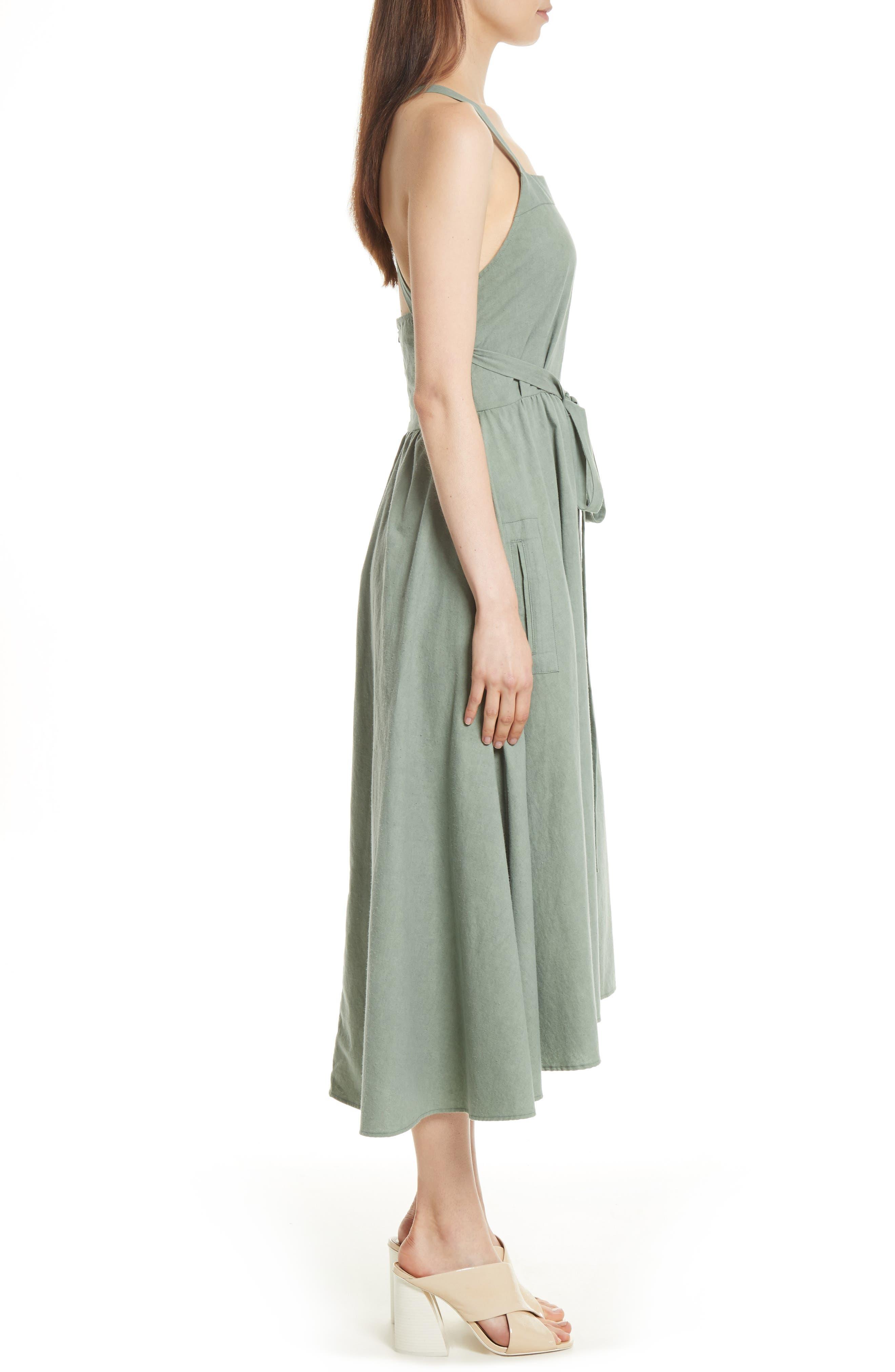 The Apron Dress,                             Alternate thumbnail 3, color,                             300