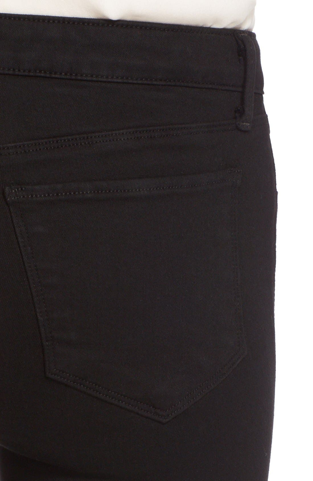 Marguerite Skinny Jeans,                             Alternate thumbnail 5, color,                             001