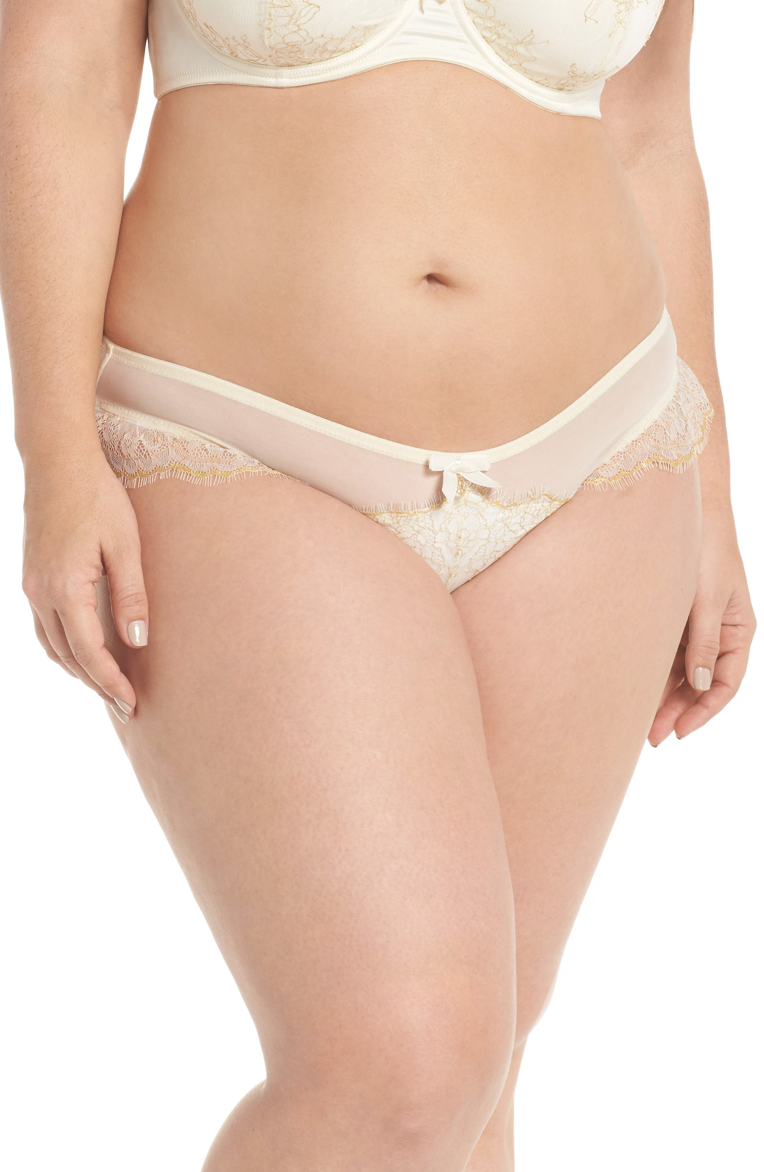 Karine Lace Panties,                         Main,                         color, 900