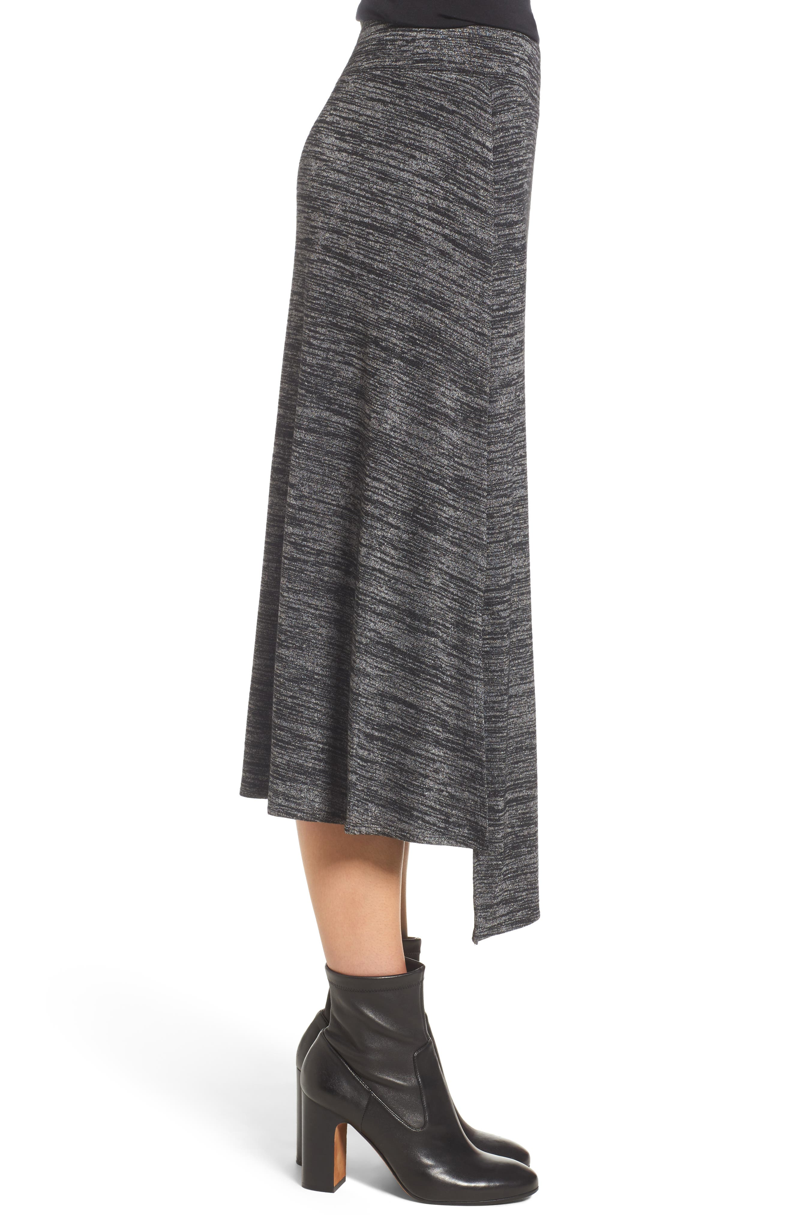 Nic + Zoe Every Occasion Faux Wrap Skirt,                             Alternate thumbnail 8, color,
