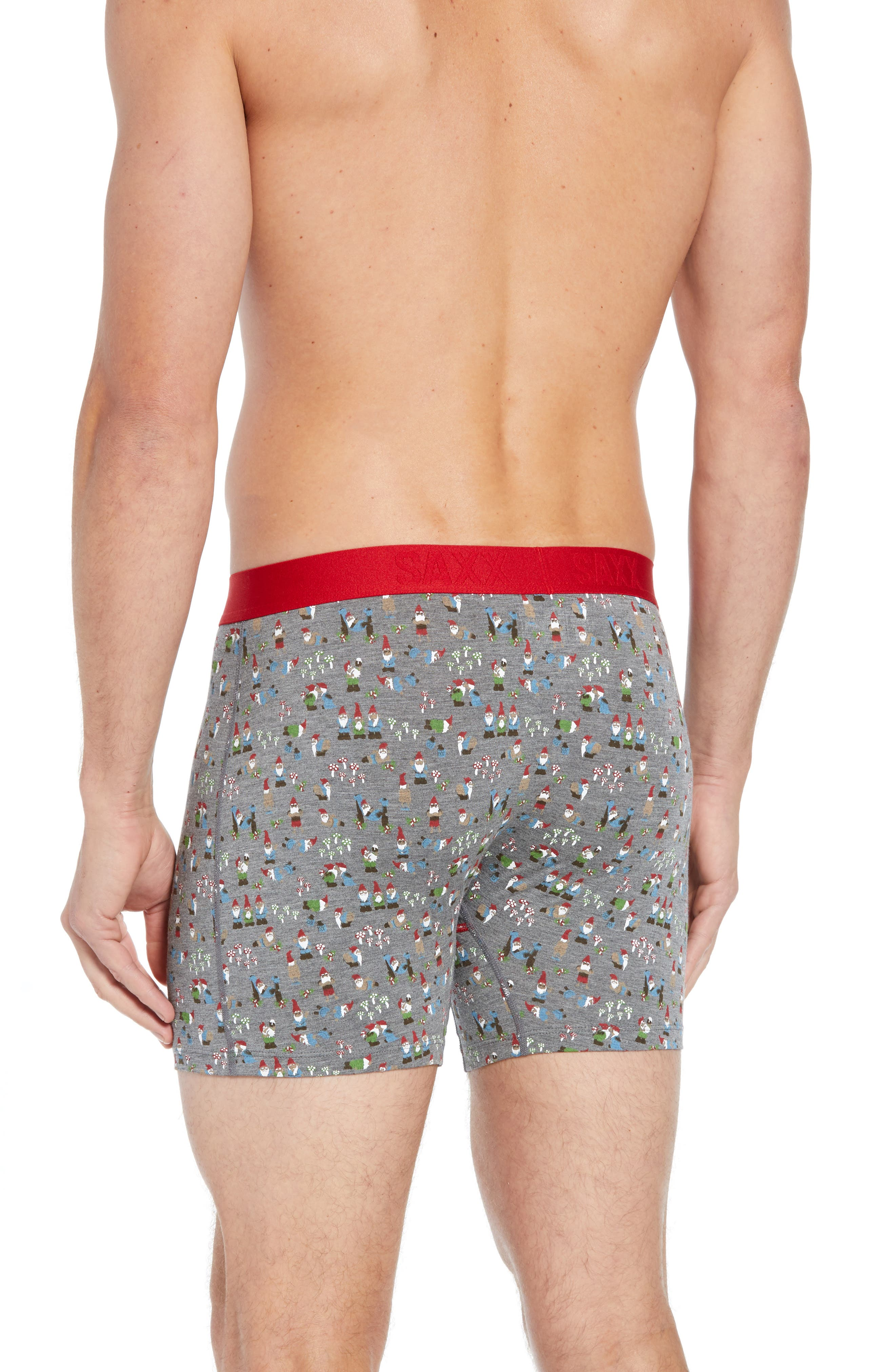 Ultra Naughty Gnomes Stretch Boxer Briefs,                             Alternate thumbnail 2, color,                             NAUGHTY GNOMES