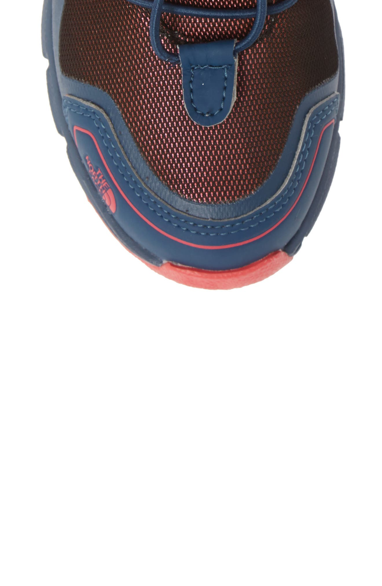 Junior Winter Sneaker Waterproof Insulated Boot,                             Alternate thumbnail 5, color,                             BLUE WING TEAL/ ATOMIC PINK