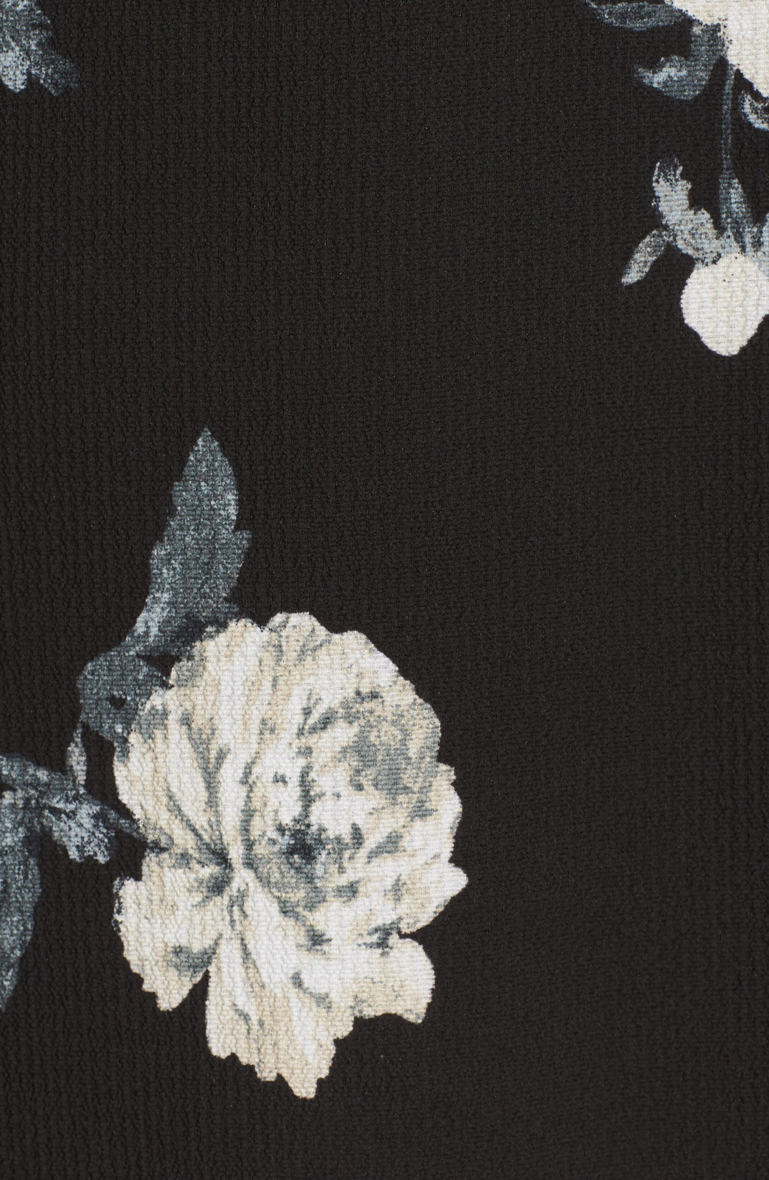 Harper Bell Sleeve Dress,                             Alternate thumbnail 5, color,                             001