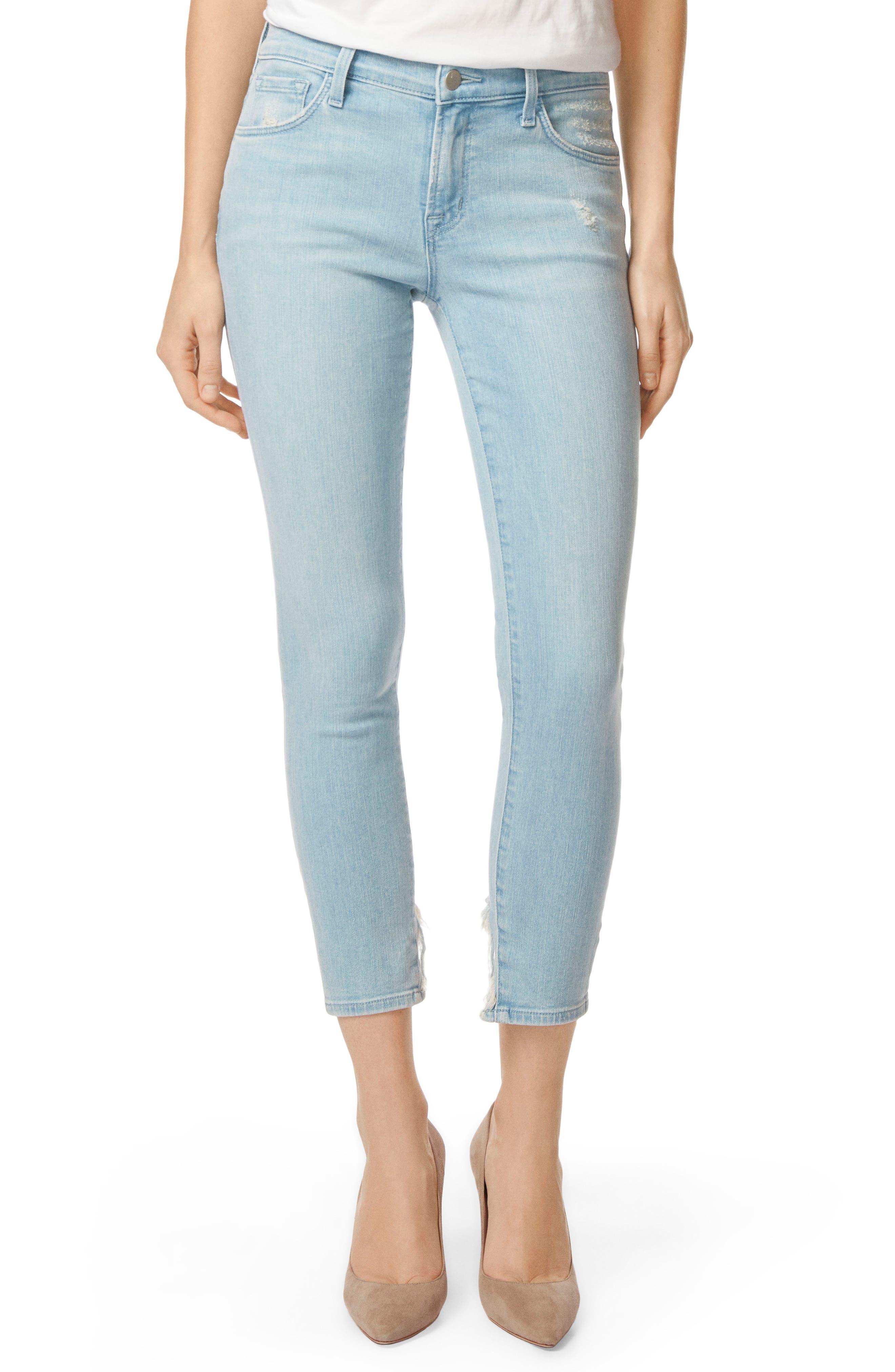 835 Capri Skinny Jeans,                         Main,                         color, 454