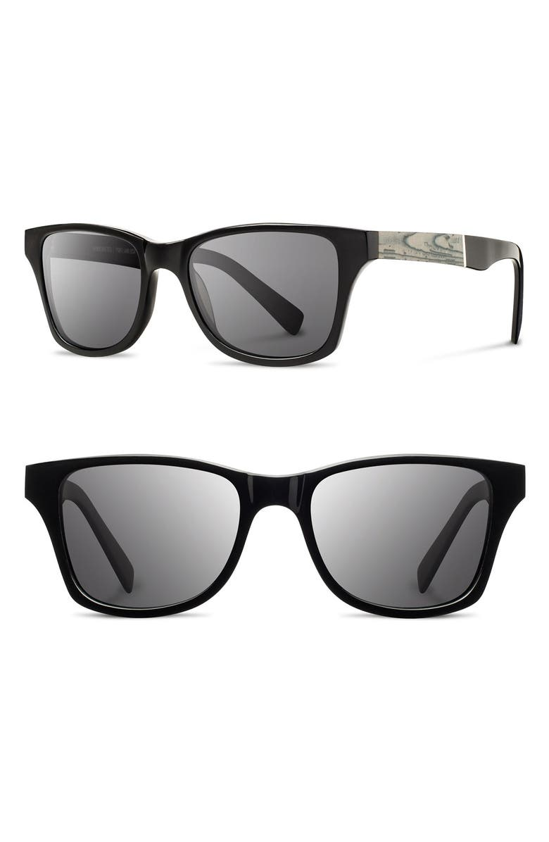 9d773f89a5 Shwood  Canby - Newspaper  54mm Polarized Sunglasses