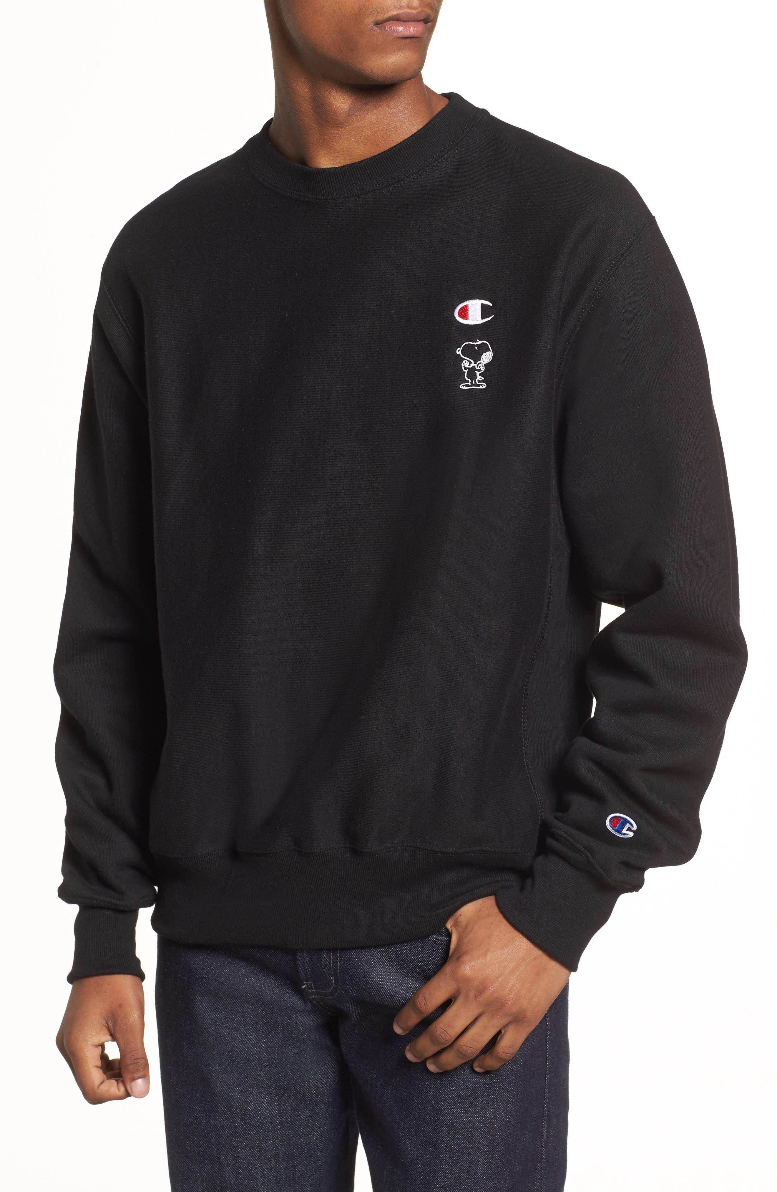 Snoopy Unisex Sweatshirt,                             Main thumbnail 1, color,                             001