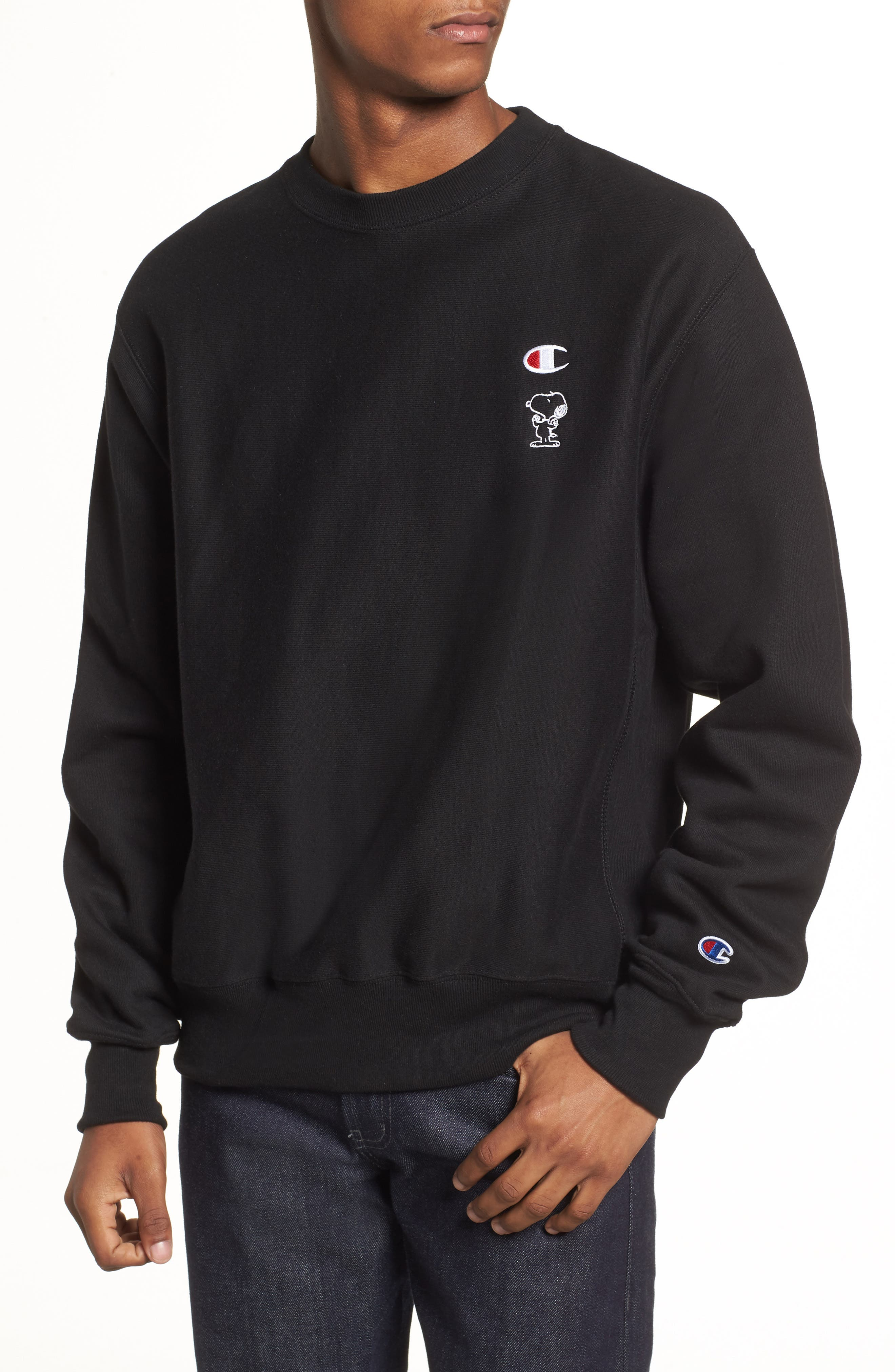 Snoopy Unisex Sweatshirt,                         Main,                         color, 001